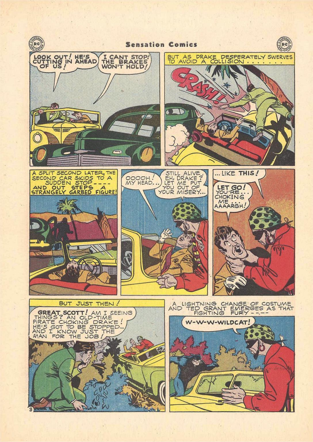 Read online Sensation (Mystery) Comics comic -  Issue #55 - 44