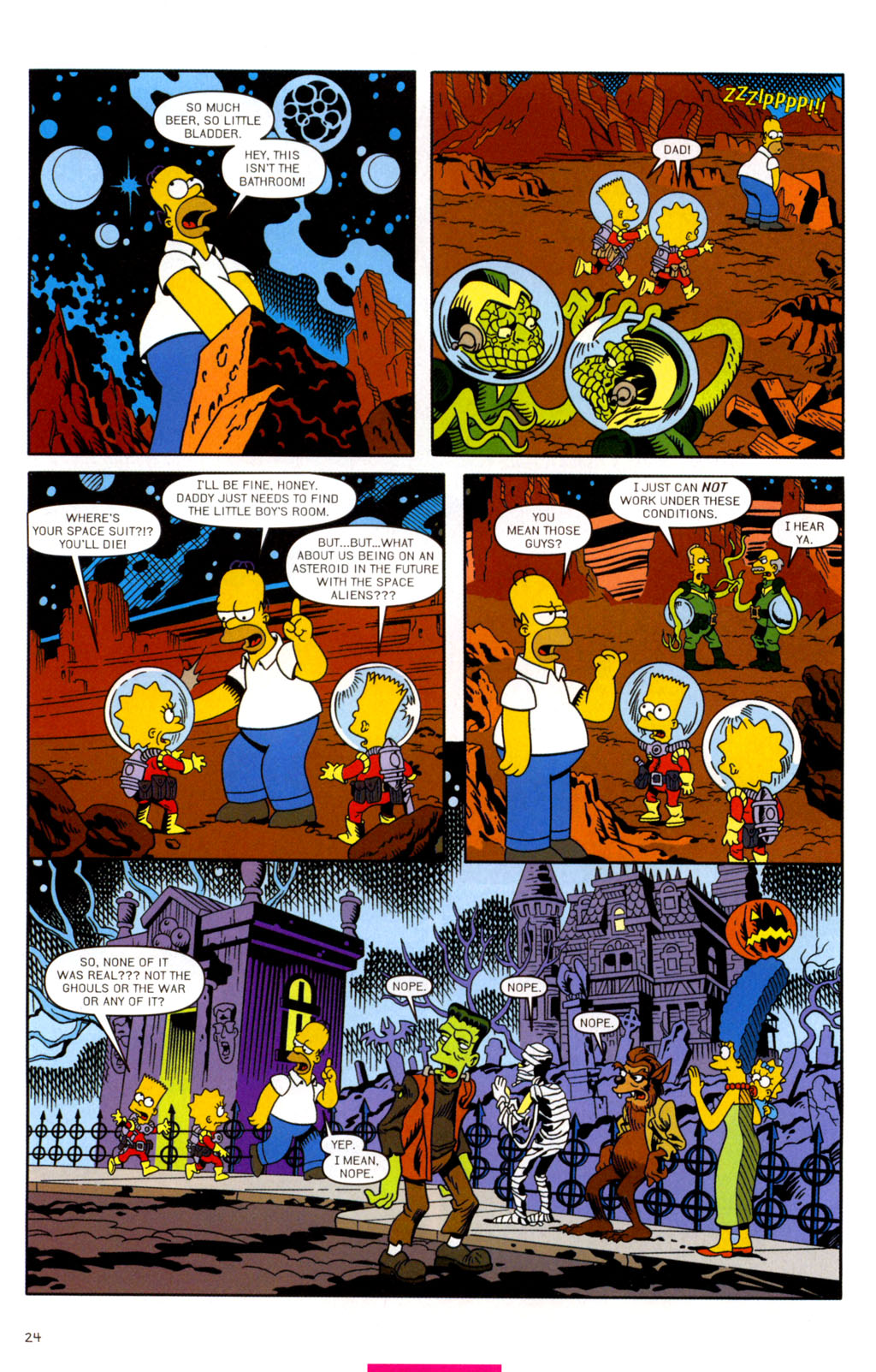 Read online Treehouse of Horror comic -  Issue #11 - 55