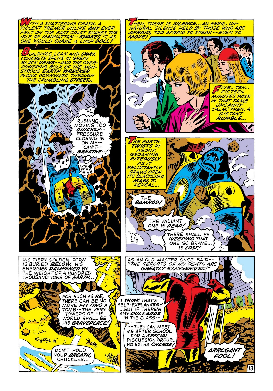 Read online Marvel Masterworks: The Invincible Iron Man comic -  Issue # TPB 7 (Part 3) - 47