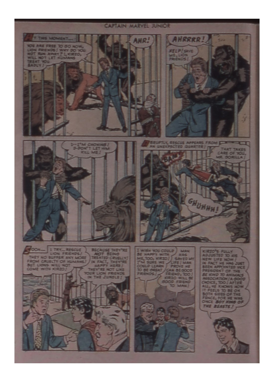 Captain Marvel, Jr. issue 81 - Page 32