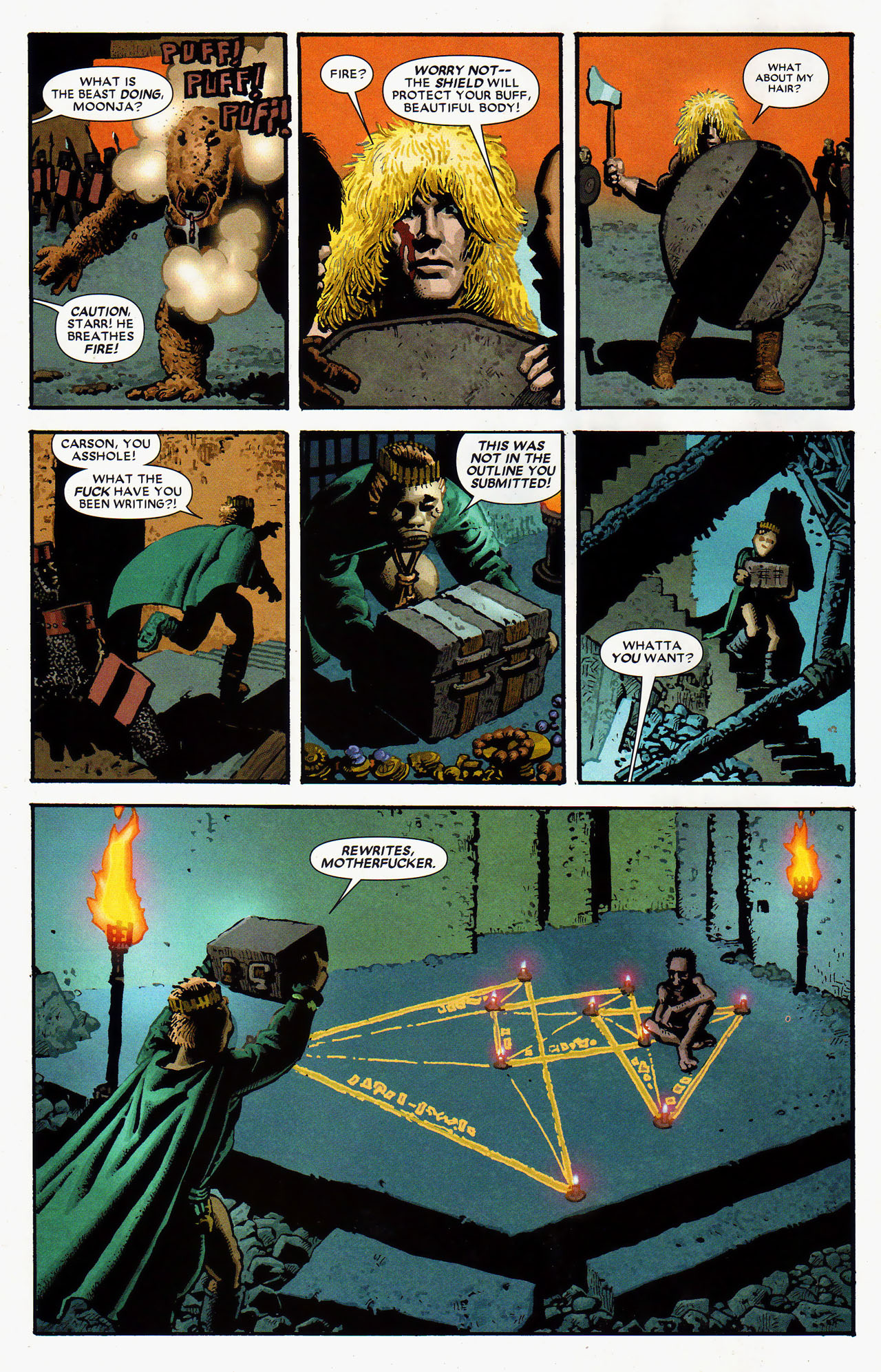 Read online Starr the Slayer comic -  Issue #4 - 10