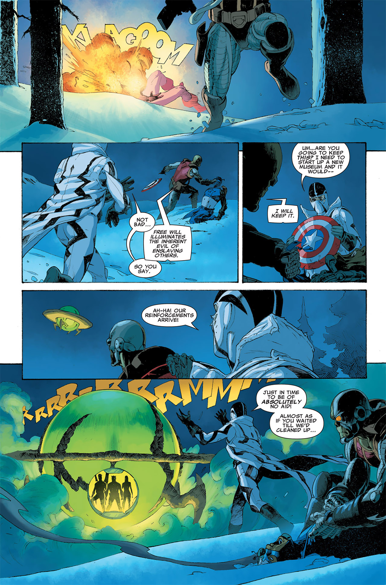 Read online Uncanny X-Force (2010) comic -  Issue #6 - 13