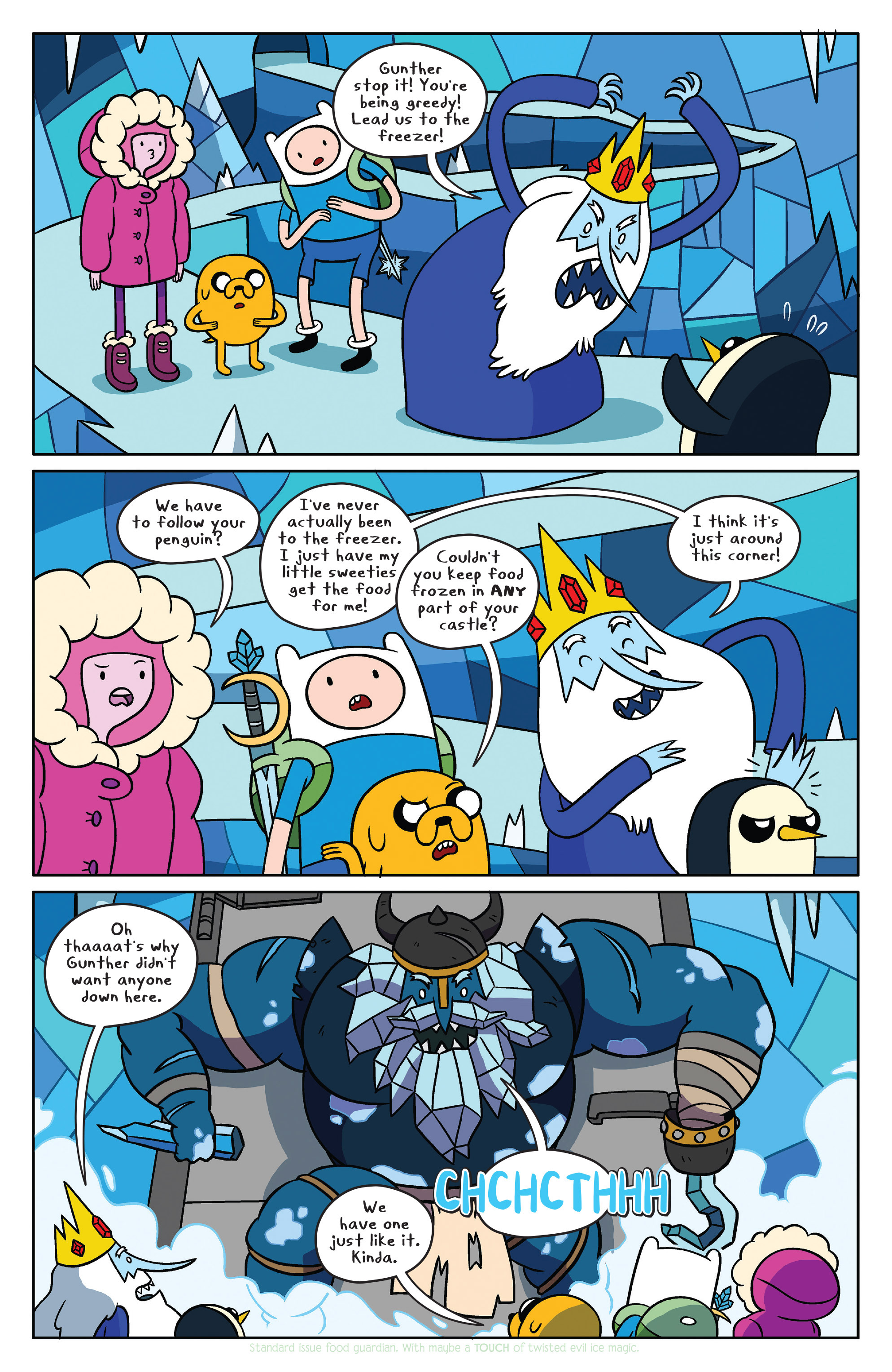 Read online Adventure Time comic -  Issue #37 - 14