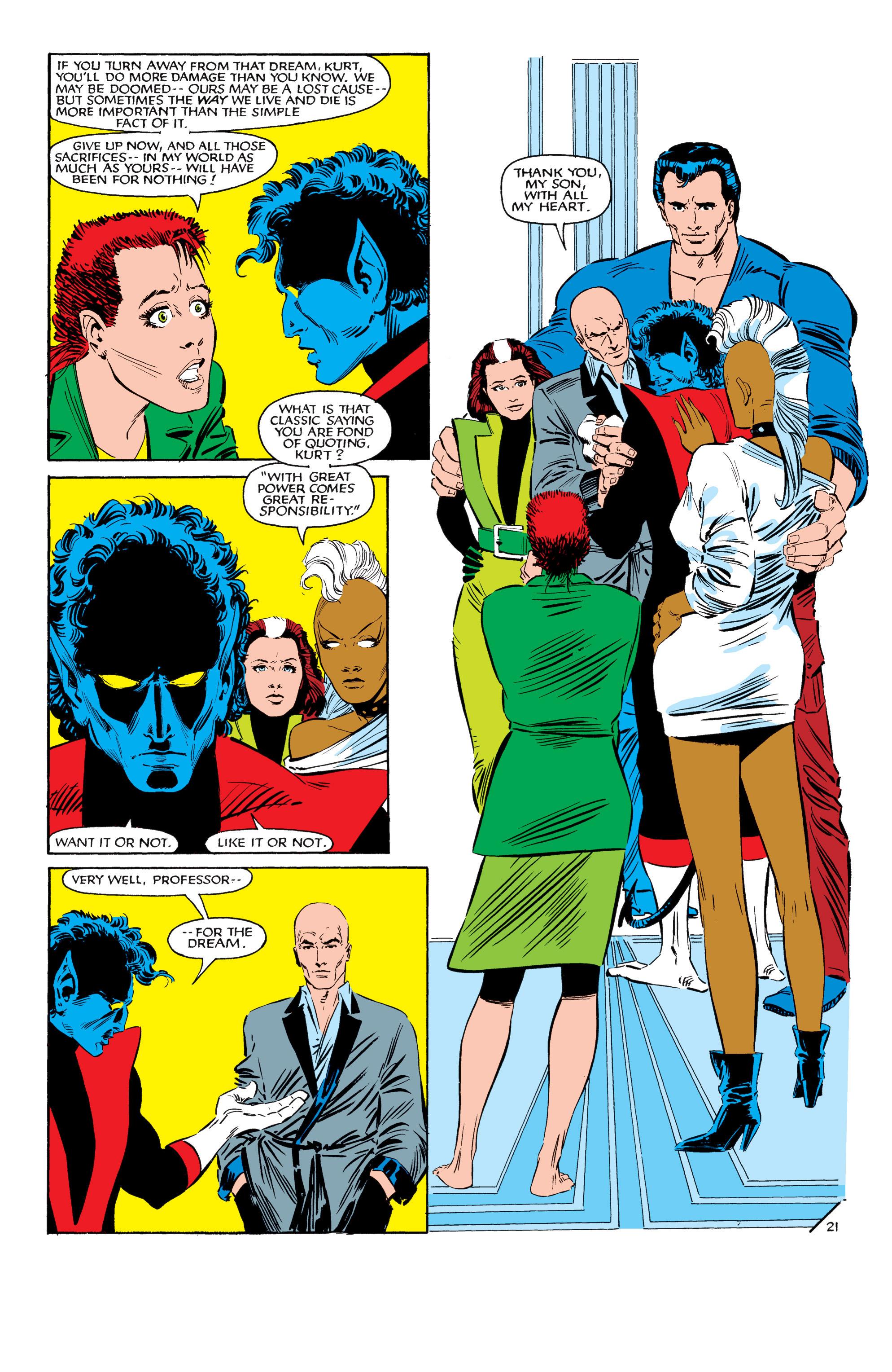Read online Uncanny X-Men (1963) comic -  Issue #188 - 22