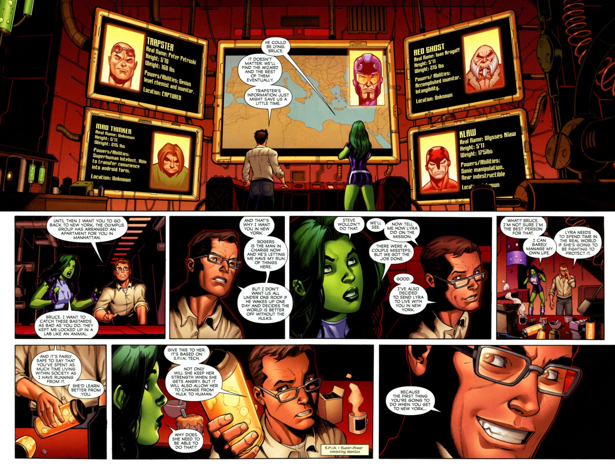 Read online She-Hulks comic -  Issue #1 - 10