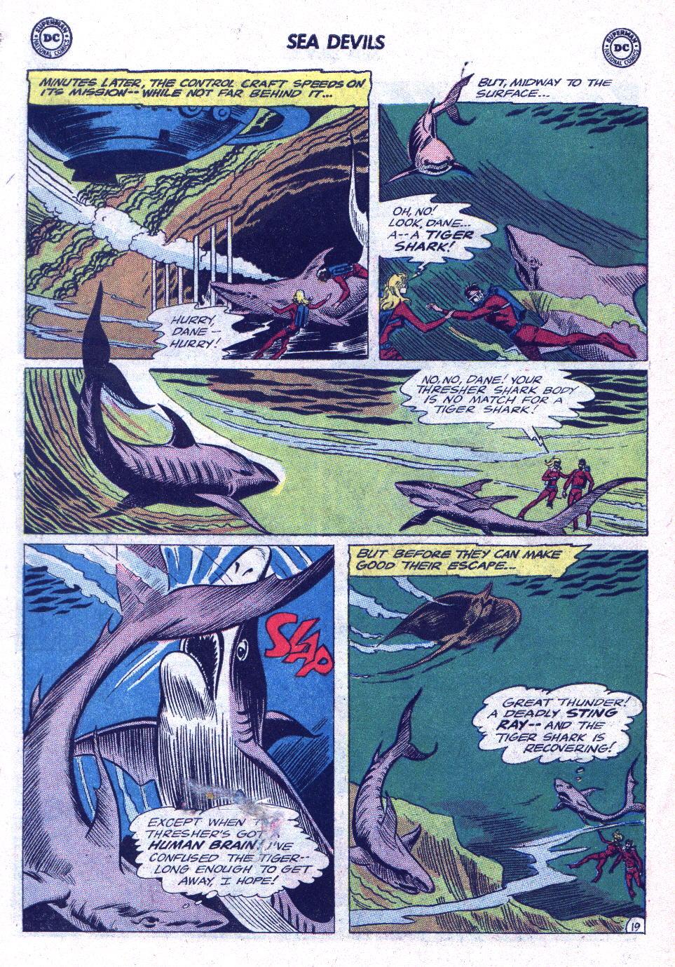 Read online Sea Devils comic -  Issue #19 - 26