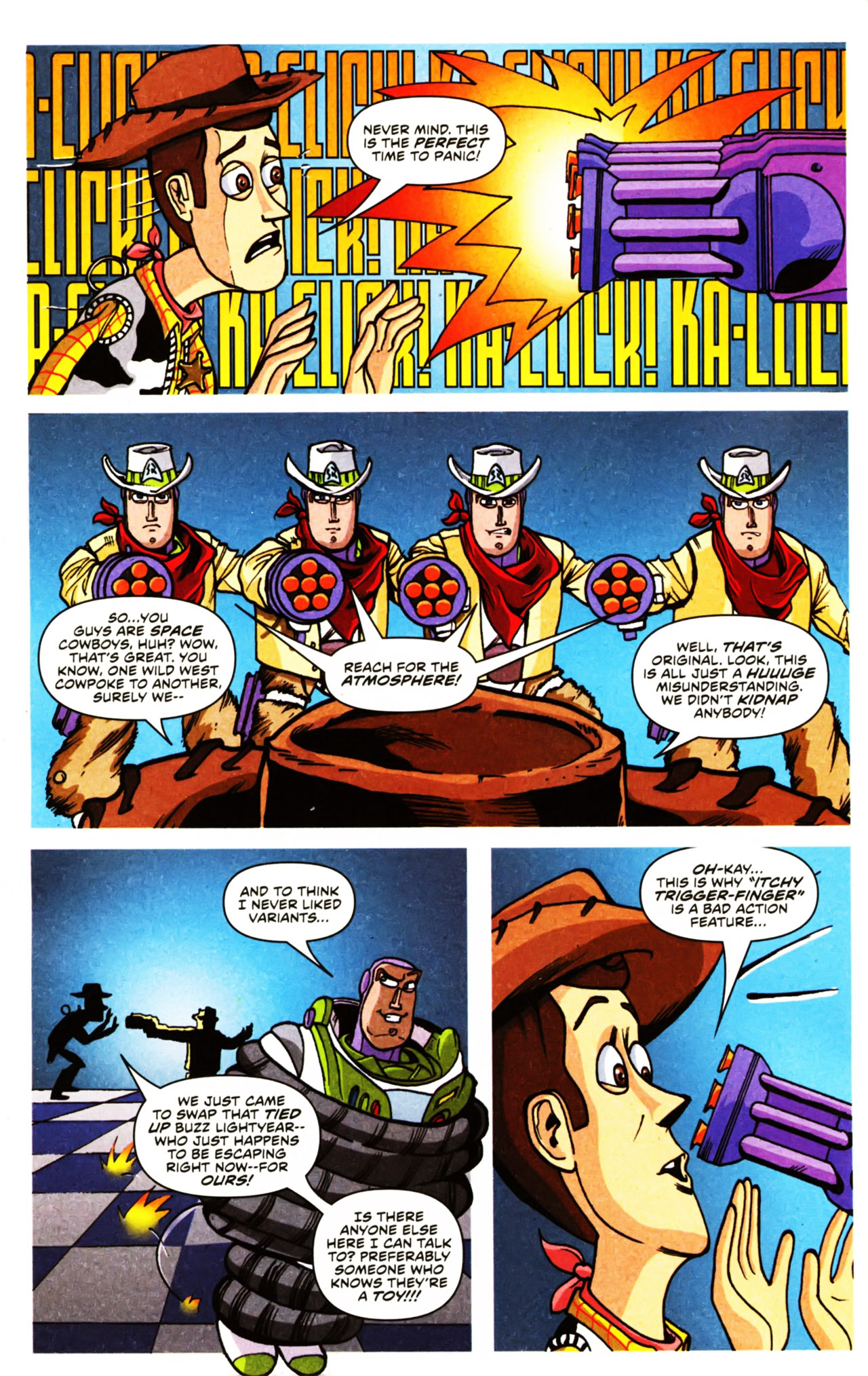 Read online Toy Story (2009) comic -  Issue #2 - 6