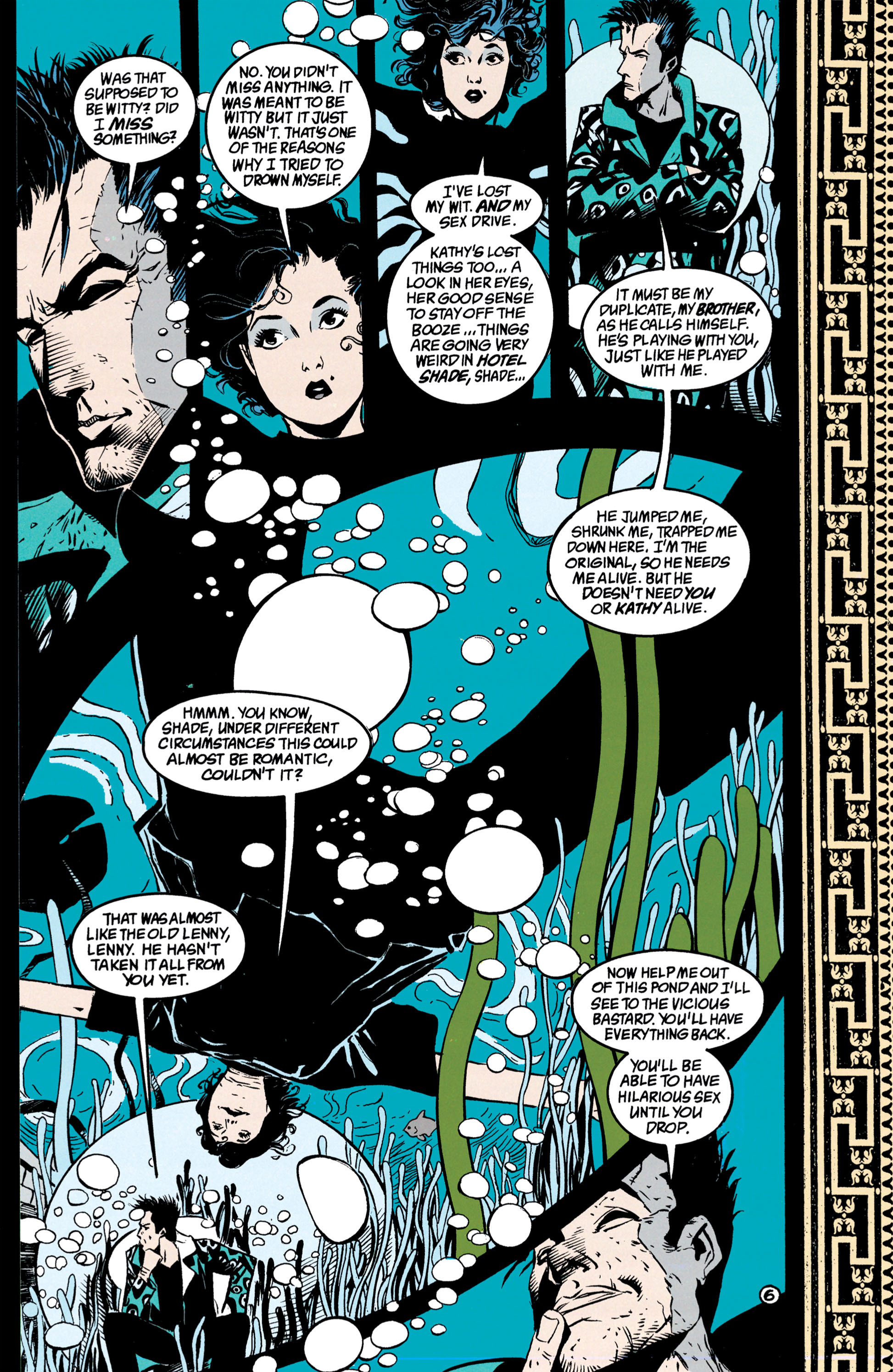 Read online Shade, the Changing Man comic -  Issue #39 - 7