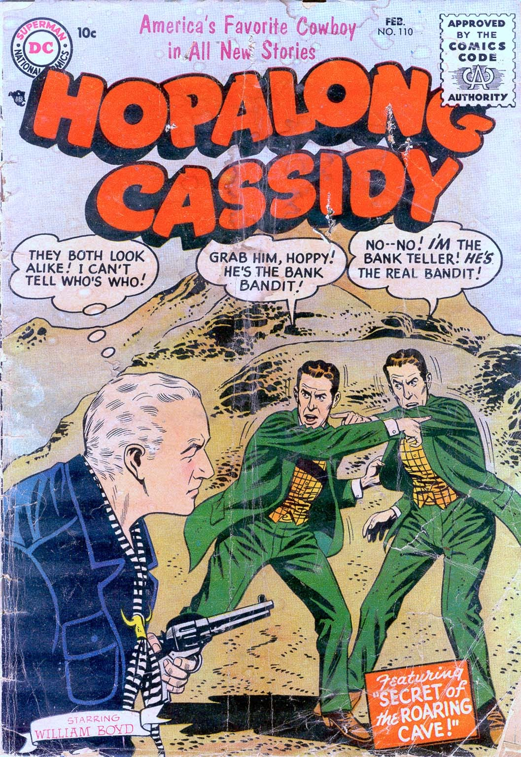 Hopalong Cassidy issue 110 - Page 1