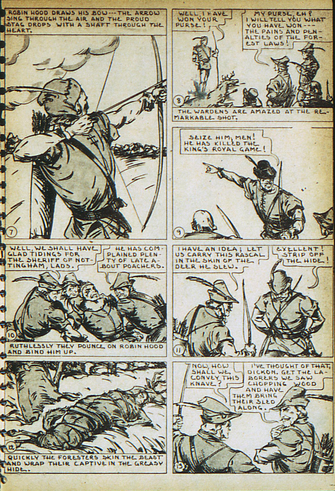 Read online Adventure Comics (1938) comic -  Issue #23 - 25