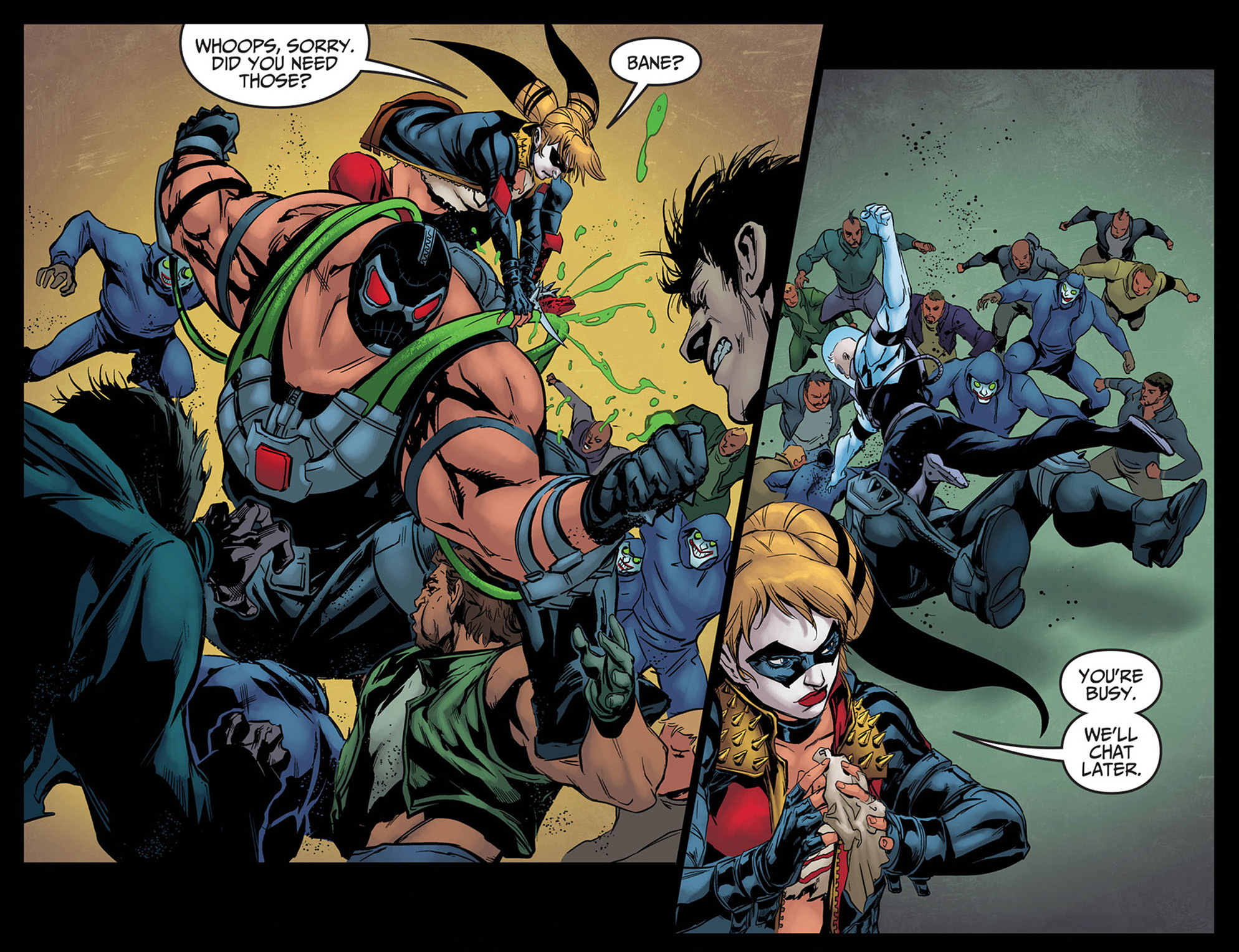 Read online Injustice: Ground Zero comic -  Issue #8 - 21