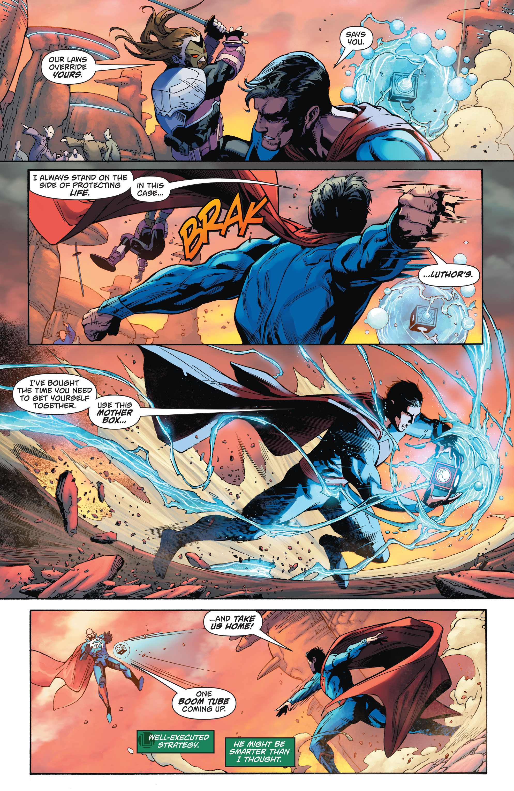 Read online Action Comics (2016) comic -  Issue #971 - 11