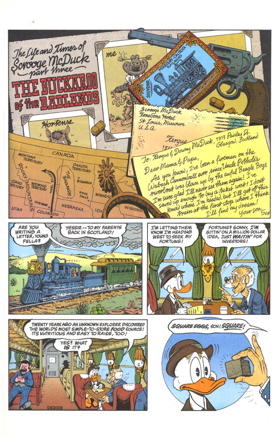 Read online Uncle Scrooge (1953) comic -  Issue #287 - 2