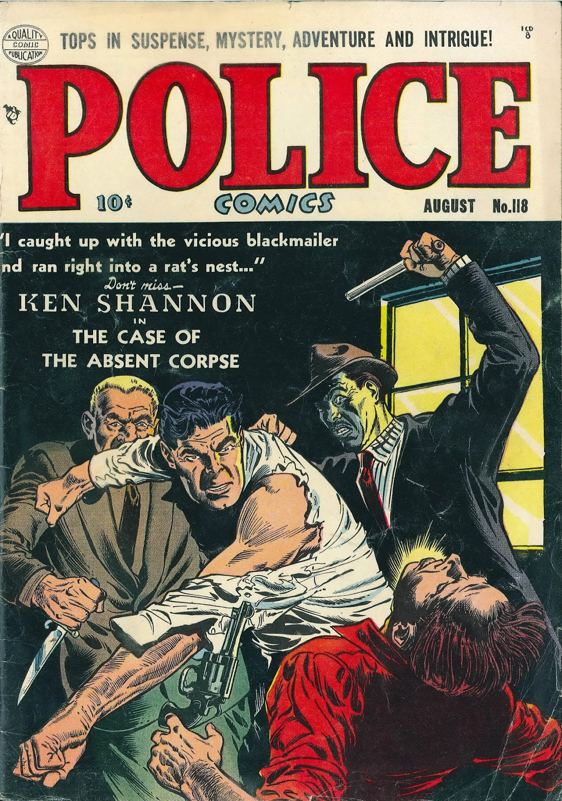 Police Comics 118 Page 1