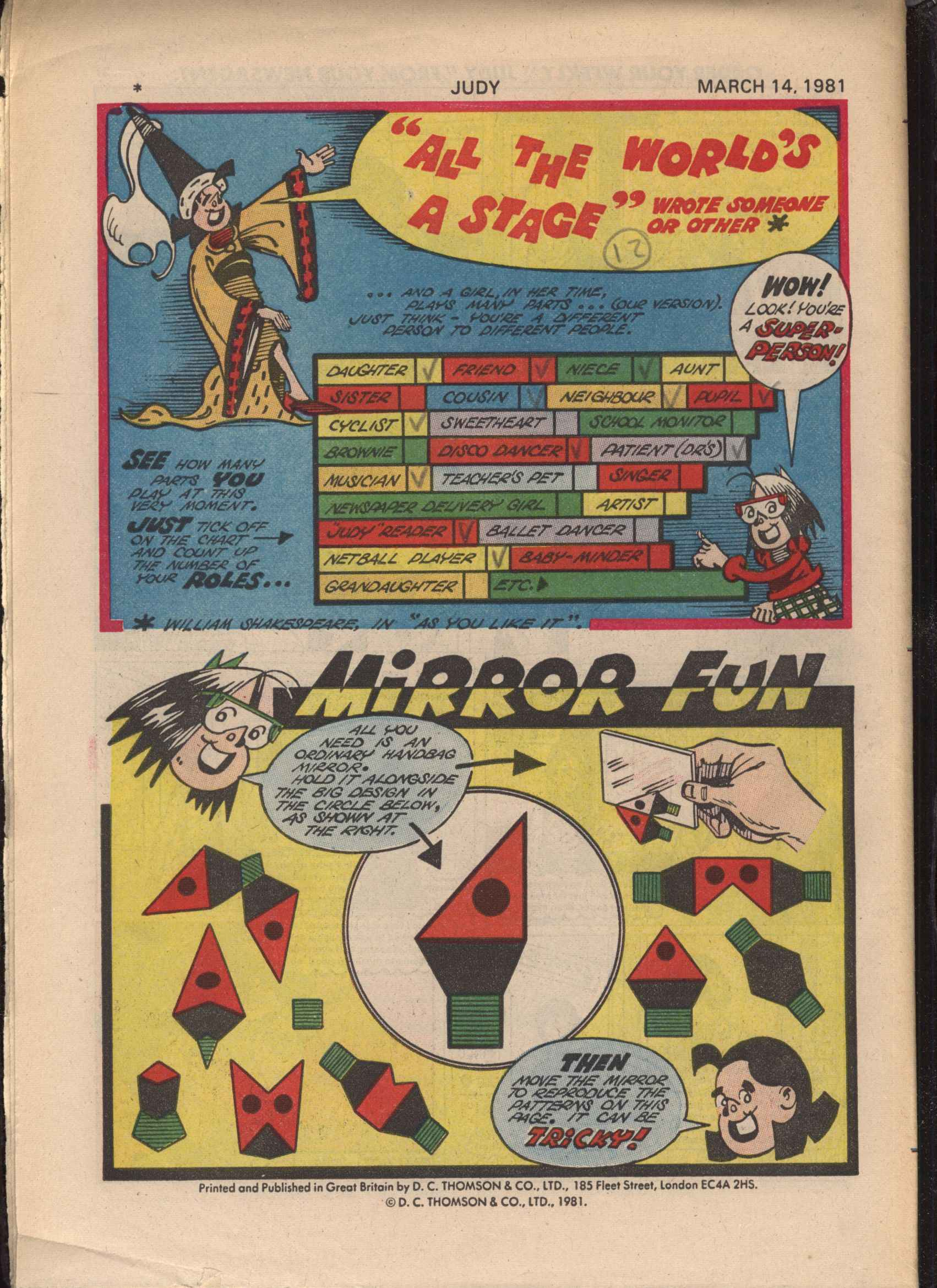 Read online Judy comic -  Issue #1105 - 32