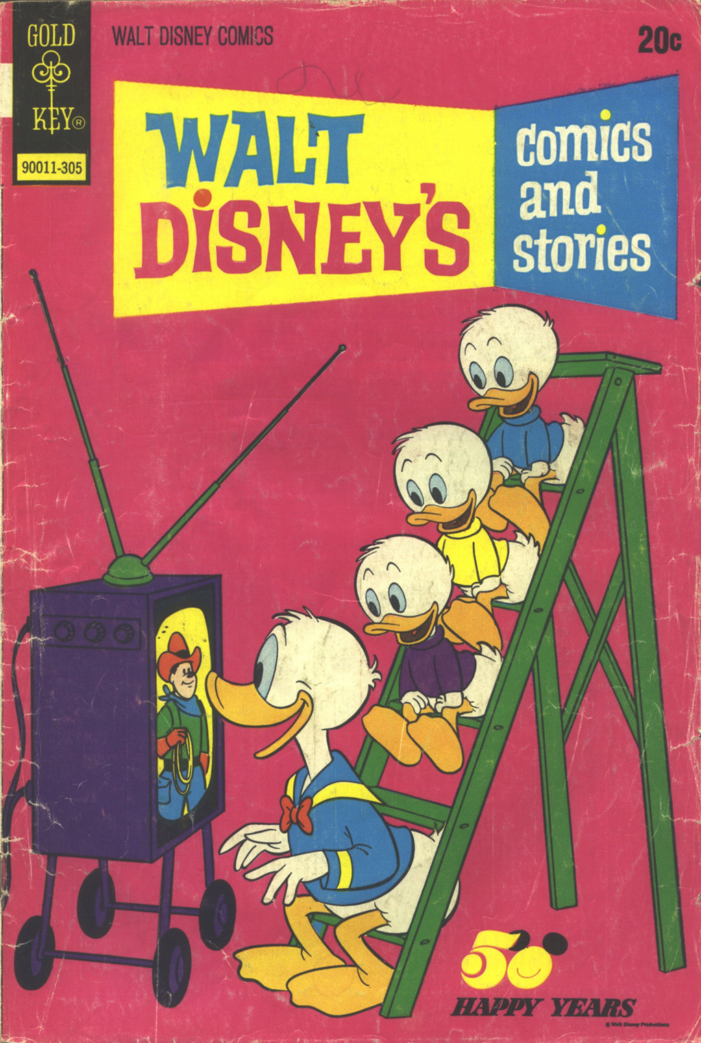 Walt Disney's Comics and Stories issue 392 - Page 1