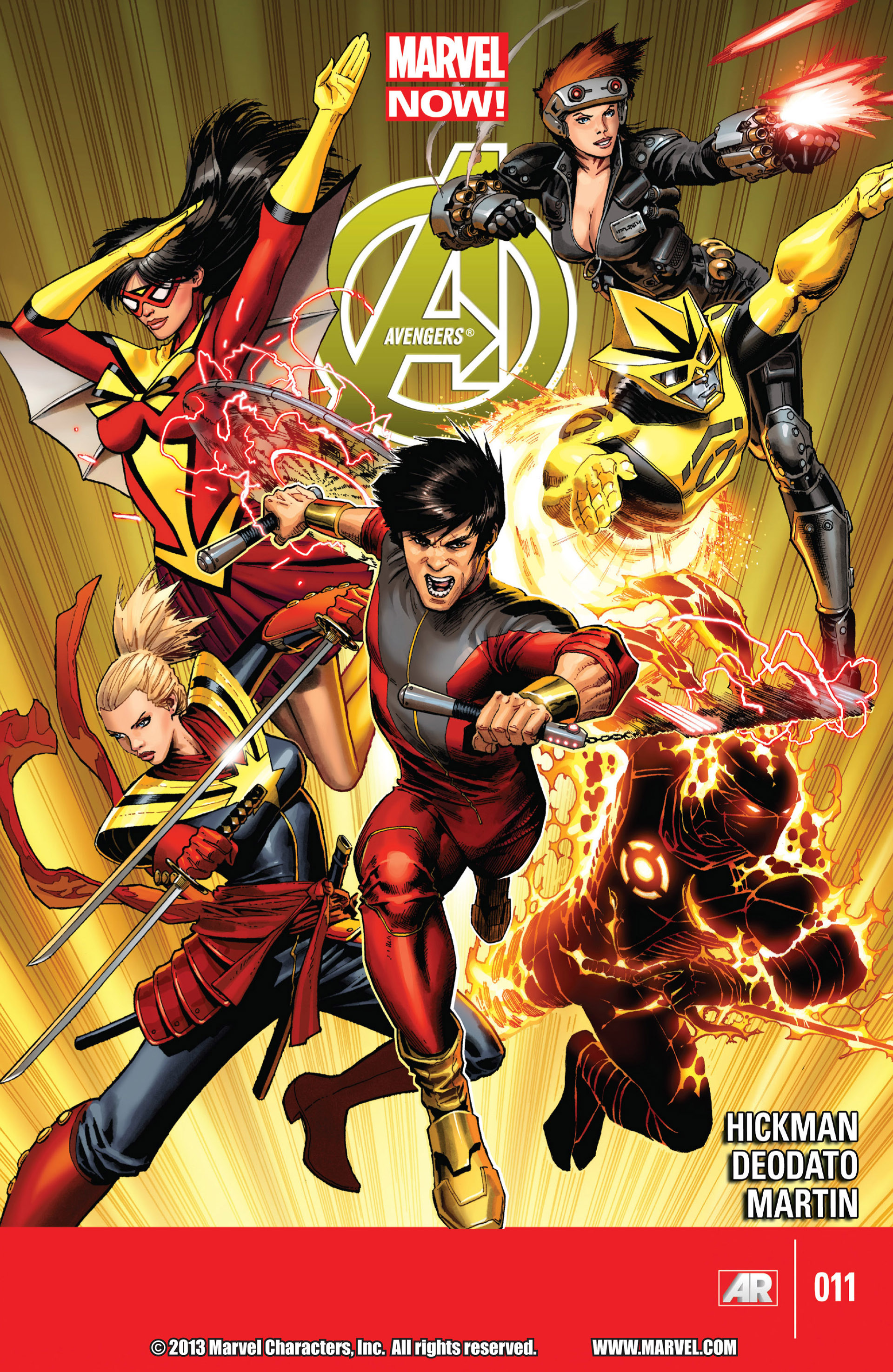 Read online Avengers (2013) comic -  Issue #11 - 1