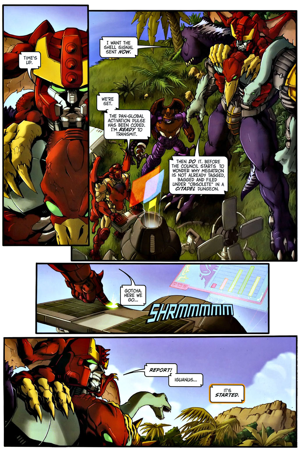 Read online Transformers, Beast Wars: The Gathering comic -  Issue #1 - 14
