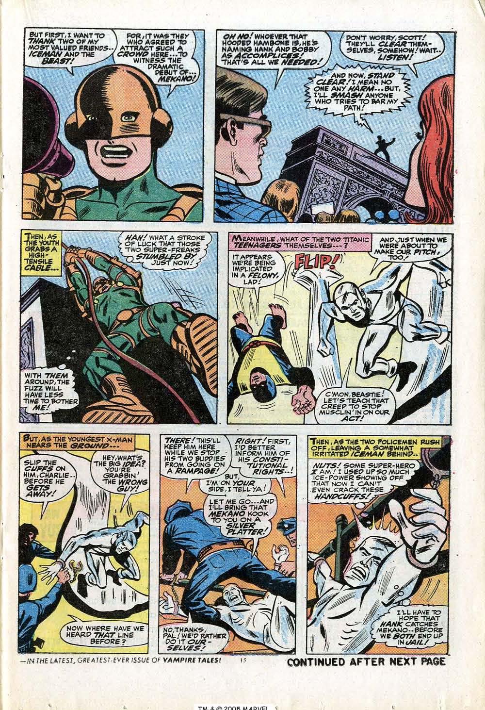 Uncanny X-Men (1963) 84 Page 16