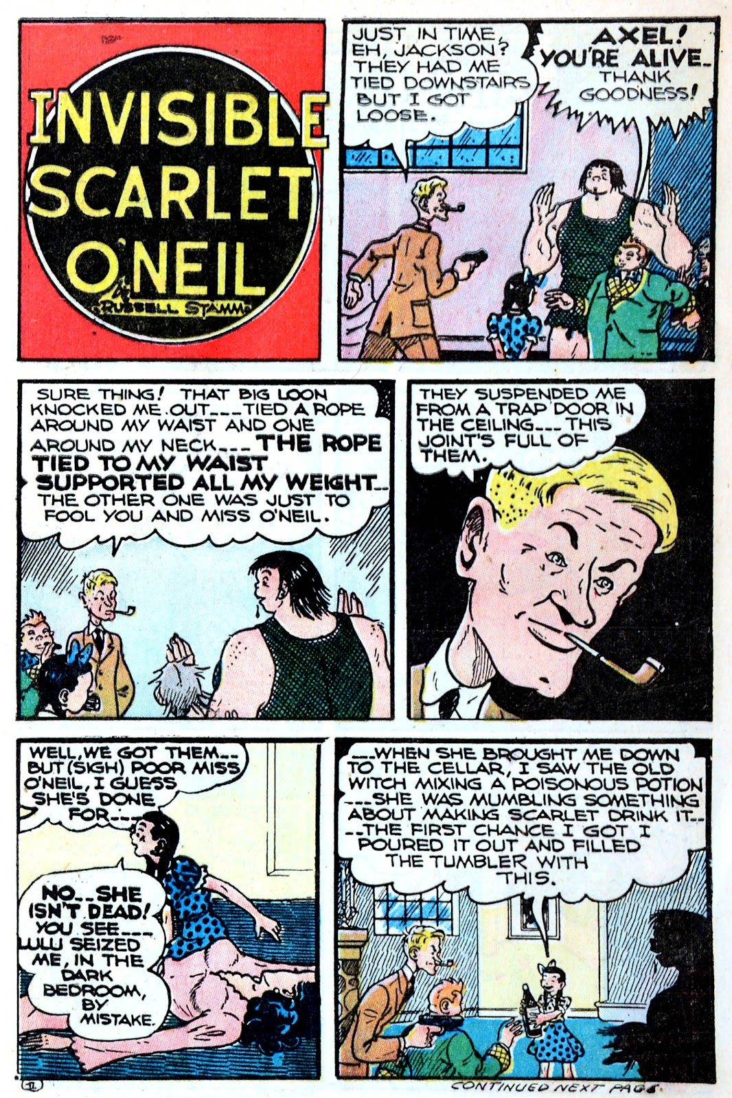 Read online Famous Funnies comic -  Issue #123 - 13