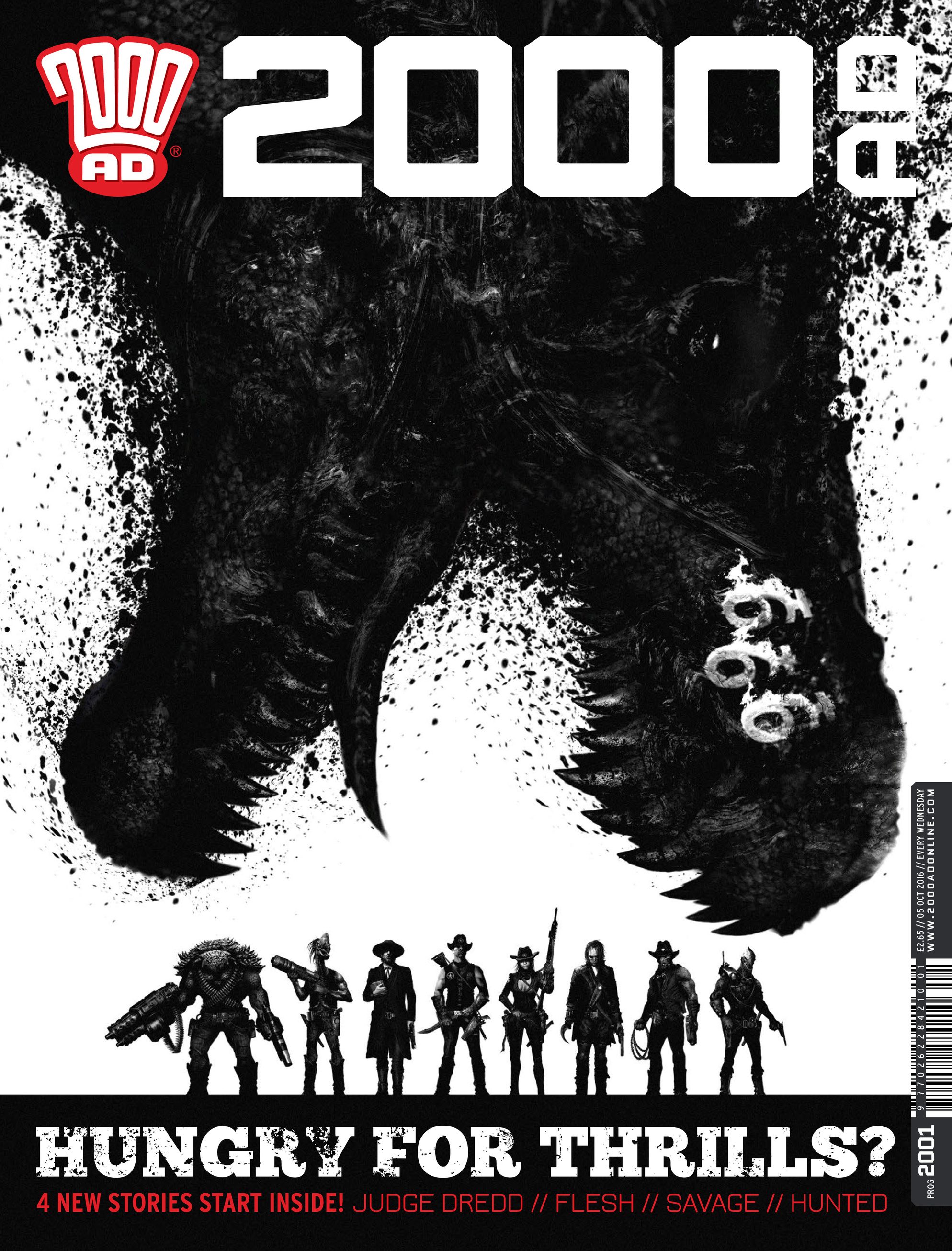 Read online 2000 AD comic -  Issue #2001 - 1