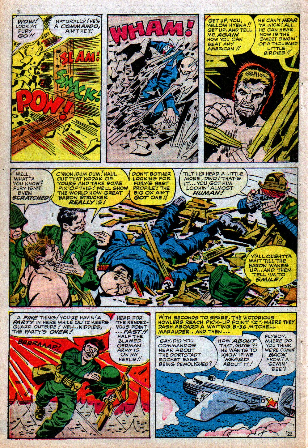 Read online Sgt. Fury comic -  Issue #5 - 30
