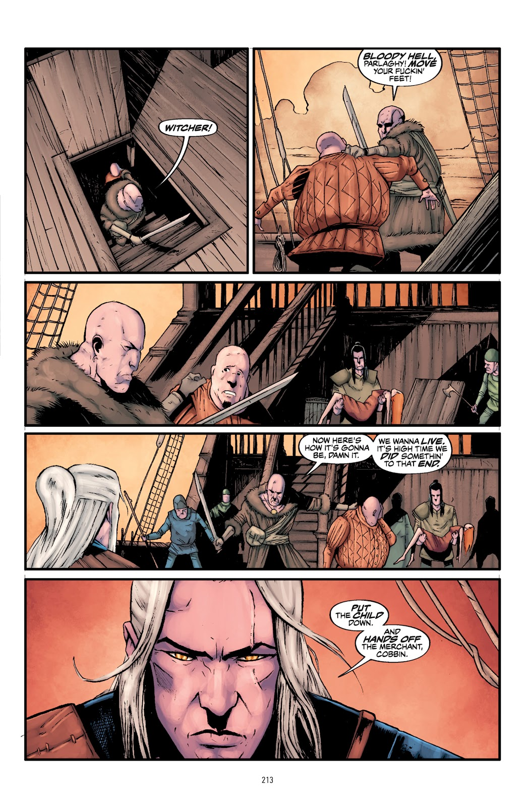 Read online The Witcher Omnibus comic -  Issue # TPB (Part 3) - 16