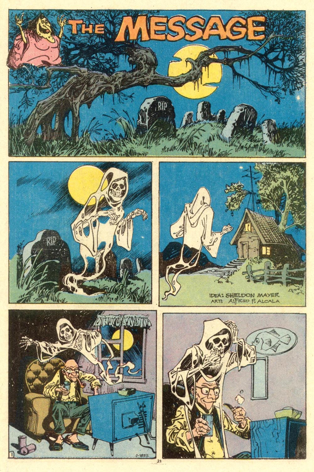 Read online Plop! comic -  Issue #1 - 23