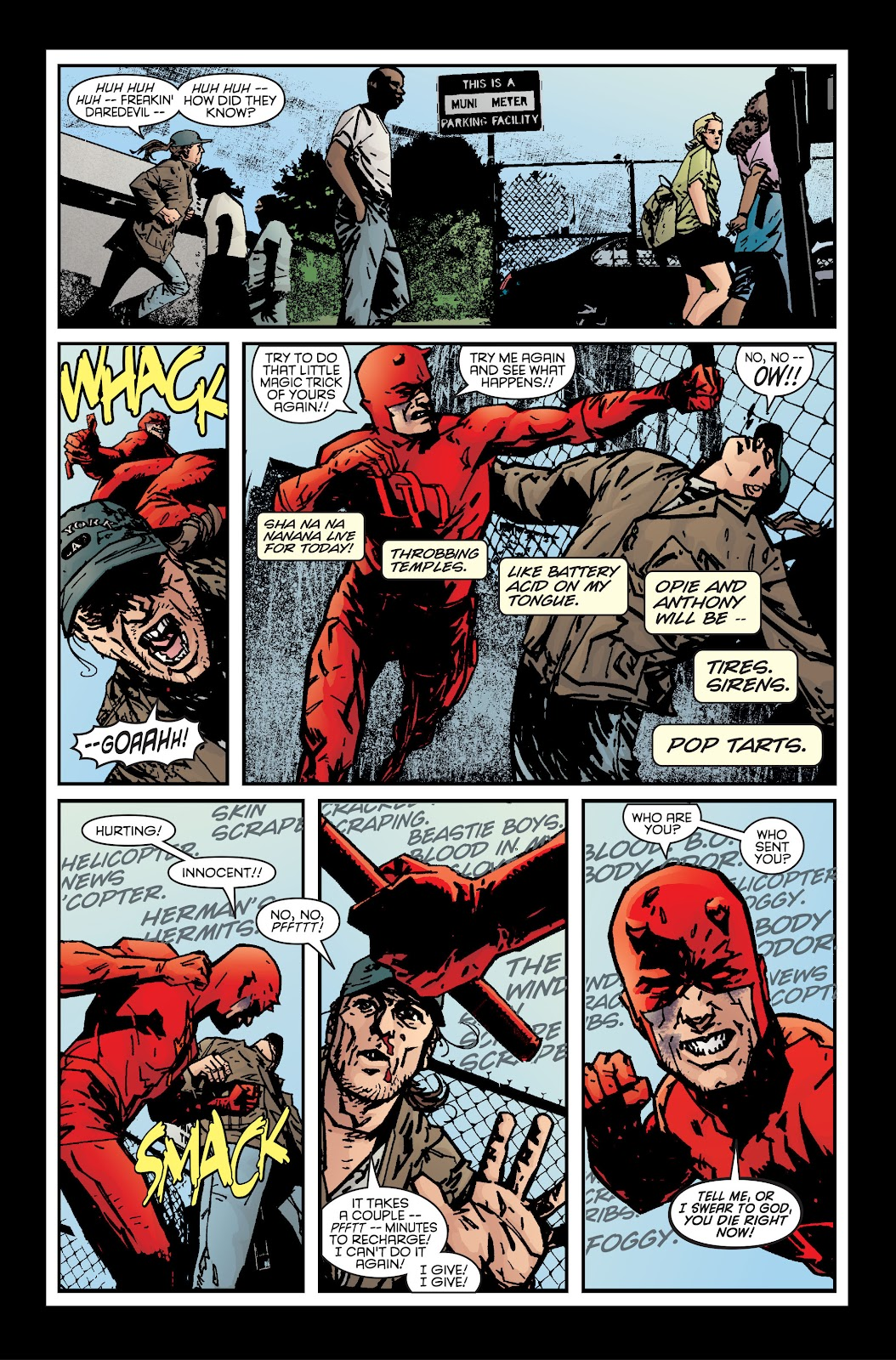 Read online Daredevil (1998) comic -  Issue # _Ultimate_Collection TPB 1 (Part 2) - 10