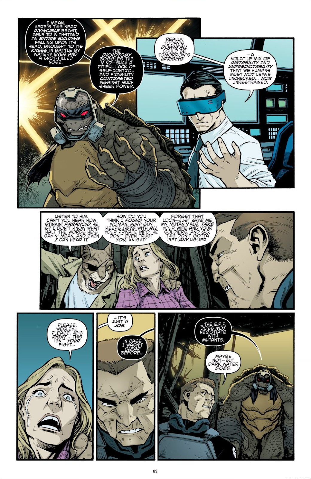 Read online Teenage Mutant Ninja Turtles: The IDW Collection comic -  Issue # TPB 9 (Part 1) - 84