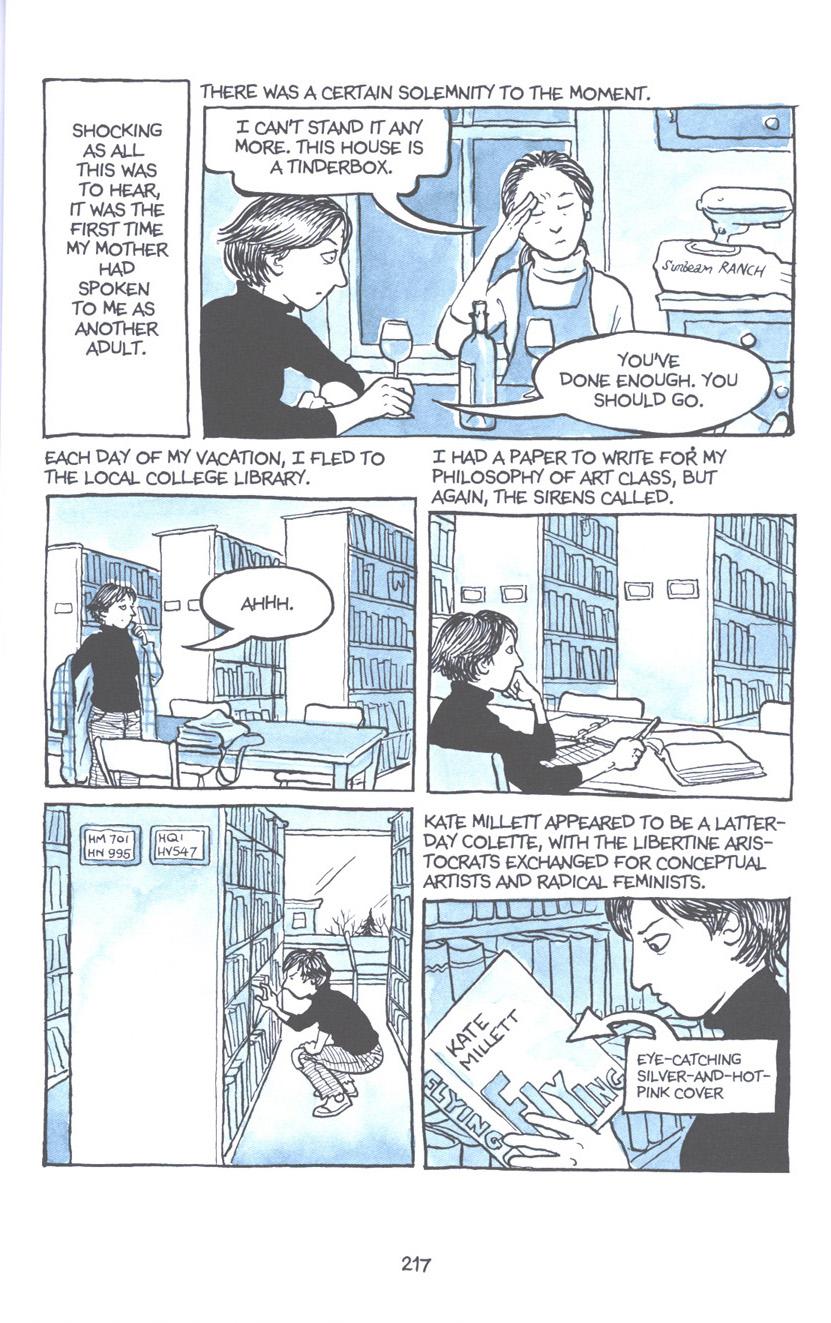 Read online Fun Home: A Family Tragicomic comic -  Issue # TPB - 223