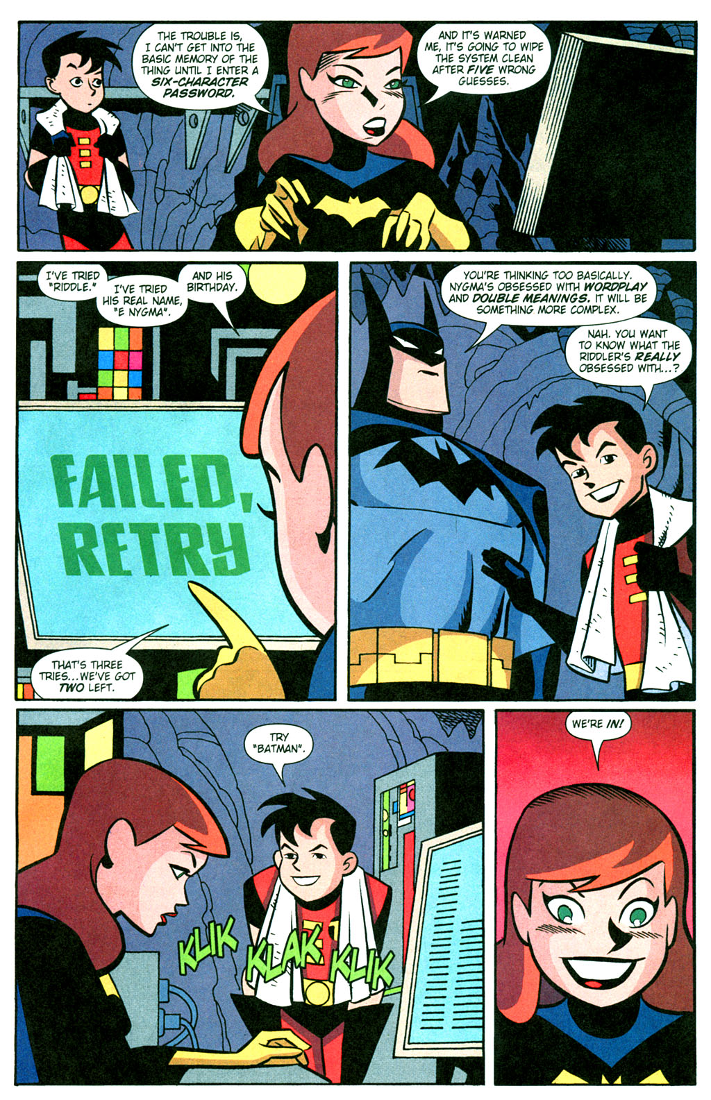 Batman Adventures 2003 Issue 13 Viewcomic Reading Comics Online For Free 2019