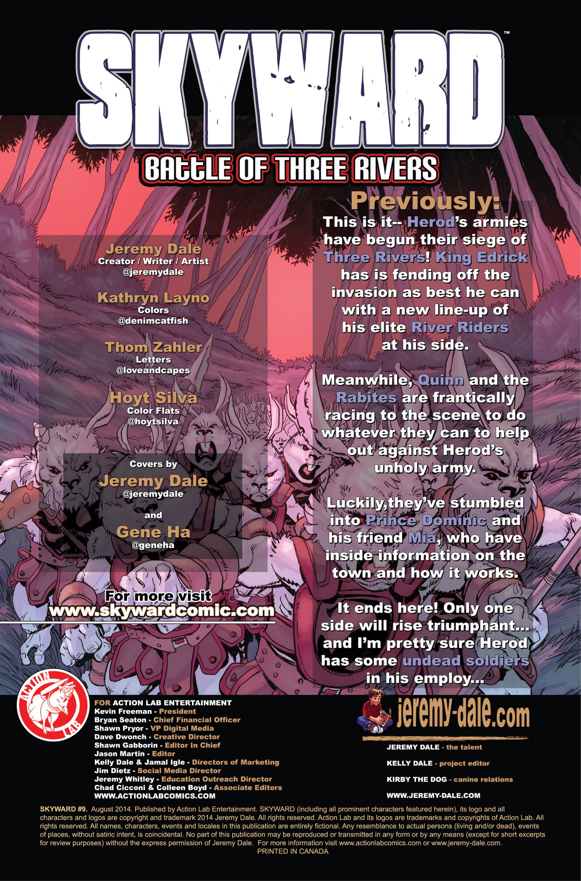 Read online Skyward comic -  Issue #9 - 2