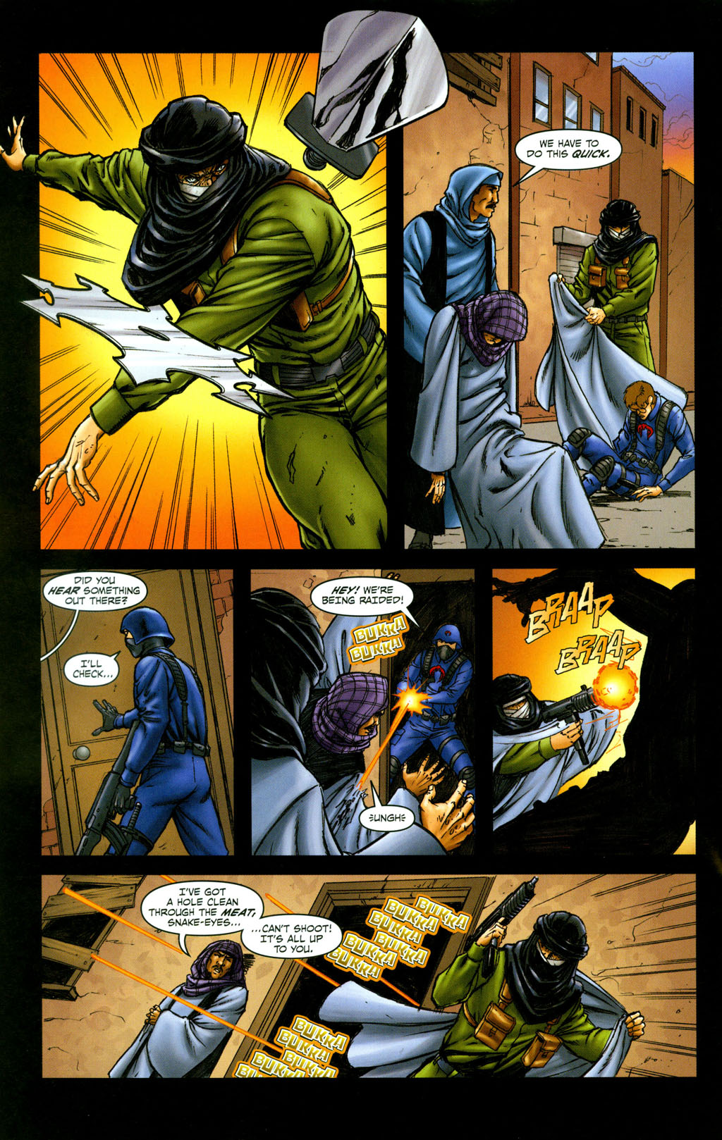 Read online Snake Eyes: Declassified comic -  Issue #6 - 17