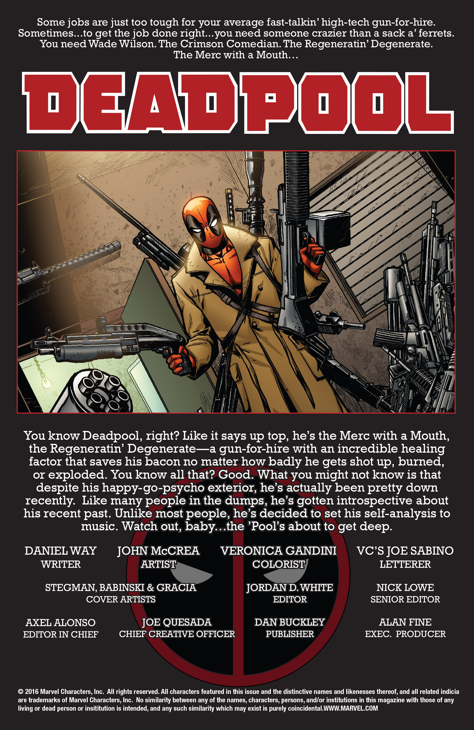 Read online True Believers: Deadpool the Musical comic -  Issue # Full - 2