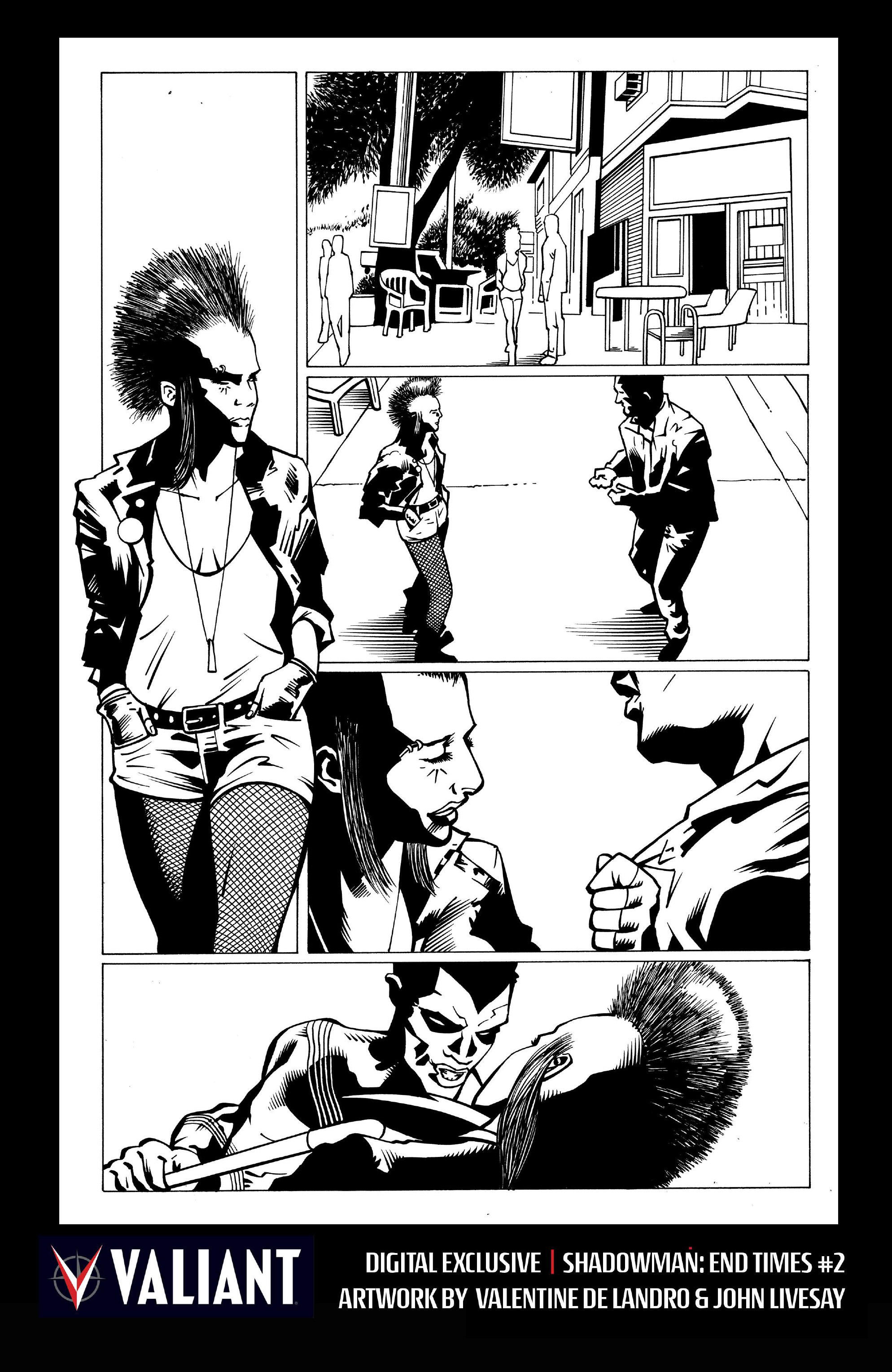 Read online Shadowman: End Times comic -  Issue #2 - 29