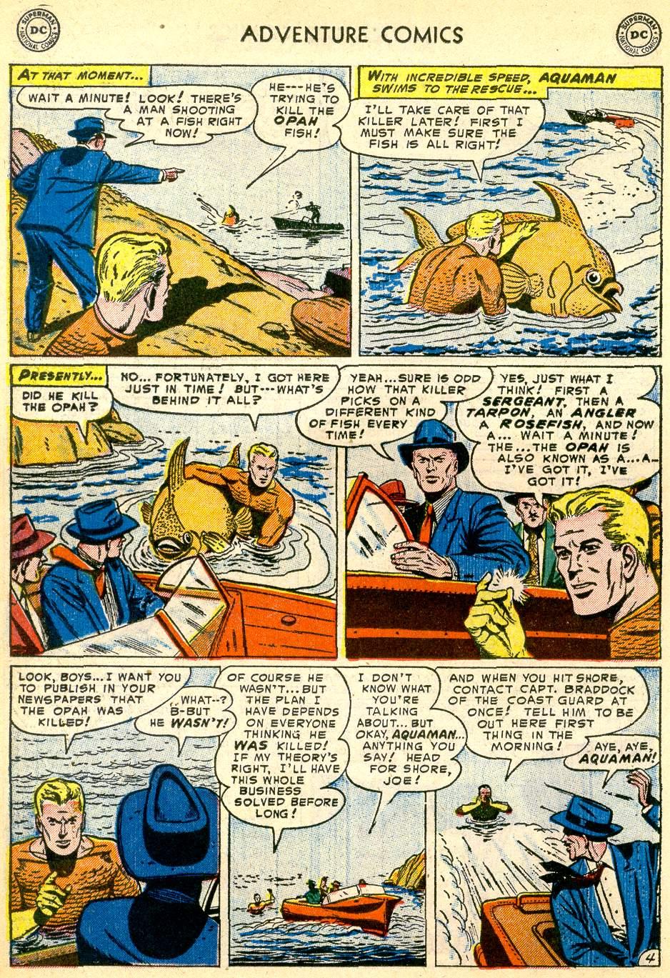 Read online Adventure Comics (1938) comic -  Issue #192 - 20