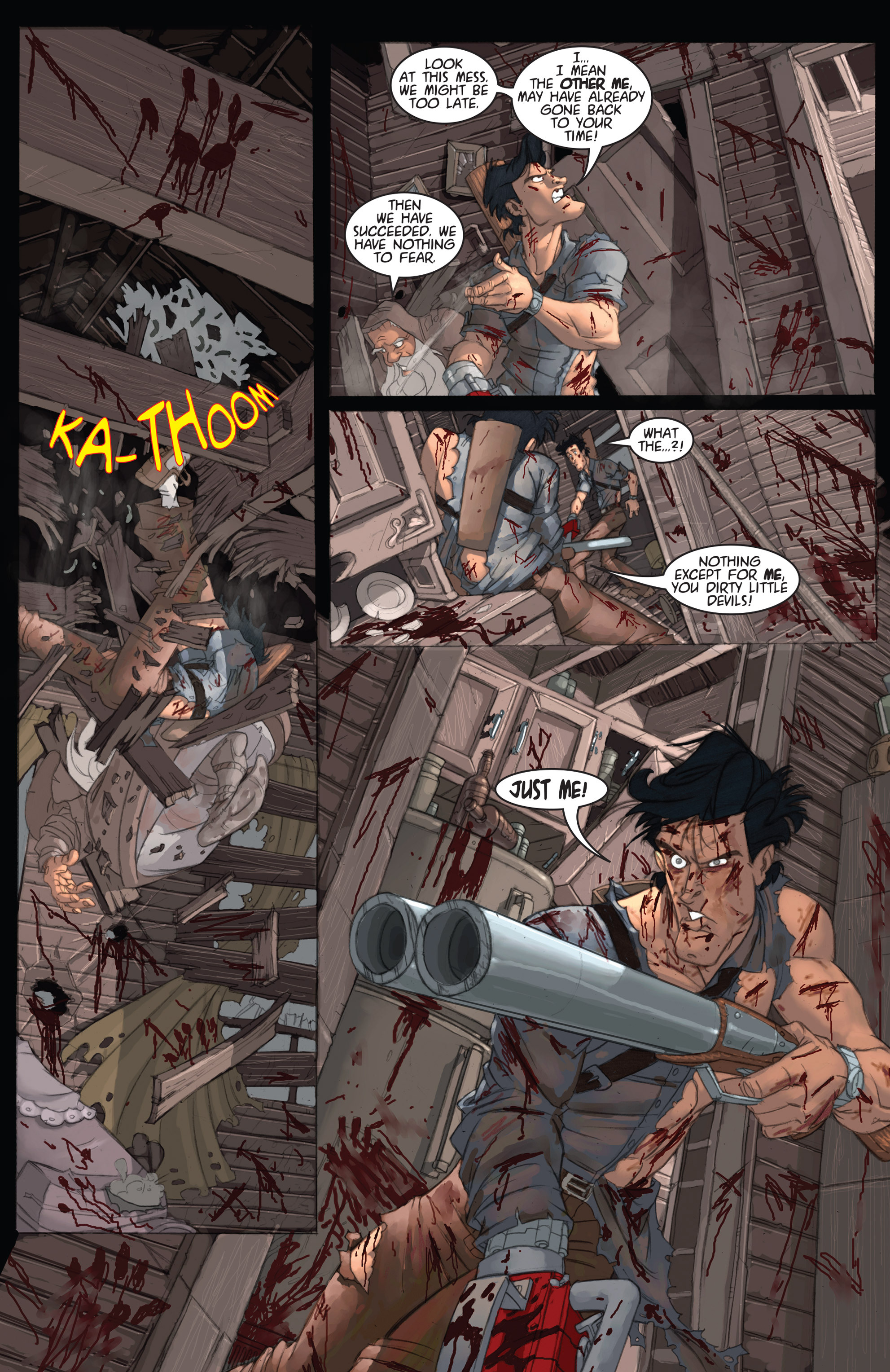 Read online Army of Darkness: Ashes 2 Ashes comic -  Issue #2 - 14