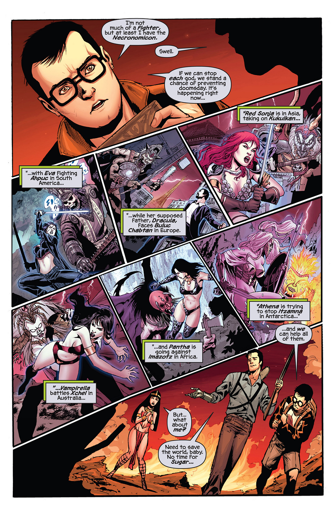 Read online Prophecy comic -  Issue #4 - 11