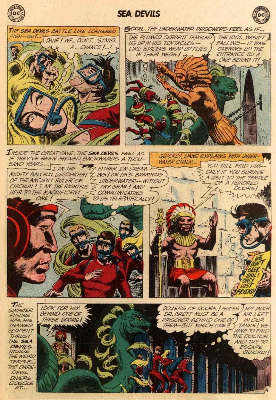 Read online Sea Devils comic -  Issue #5 - 32