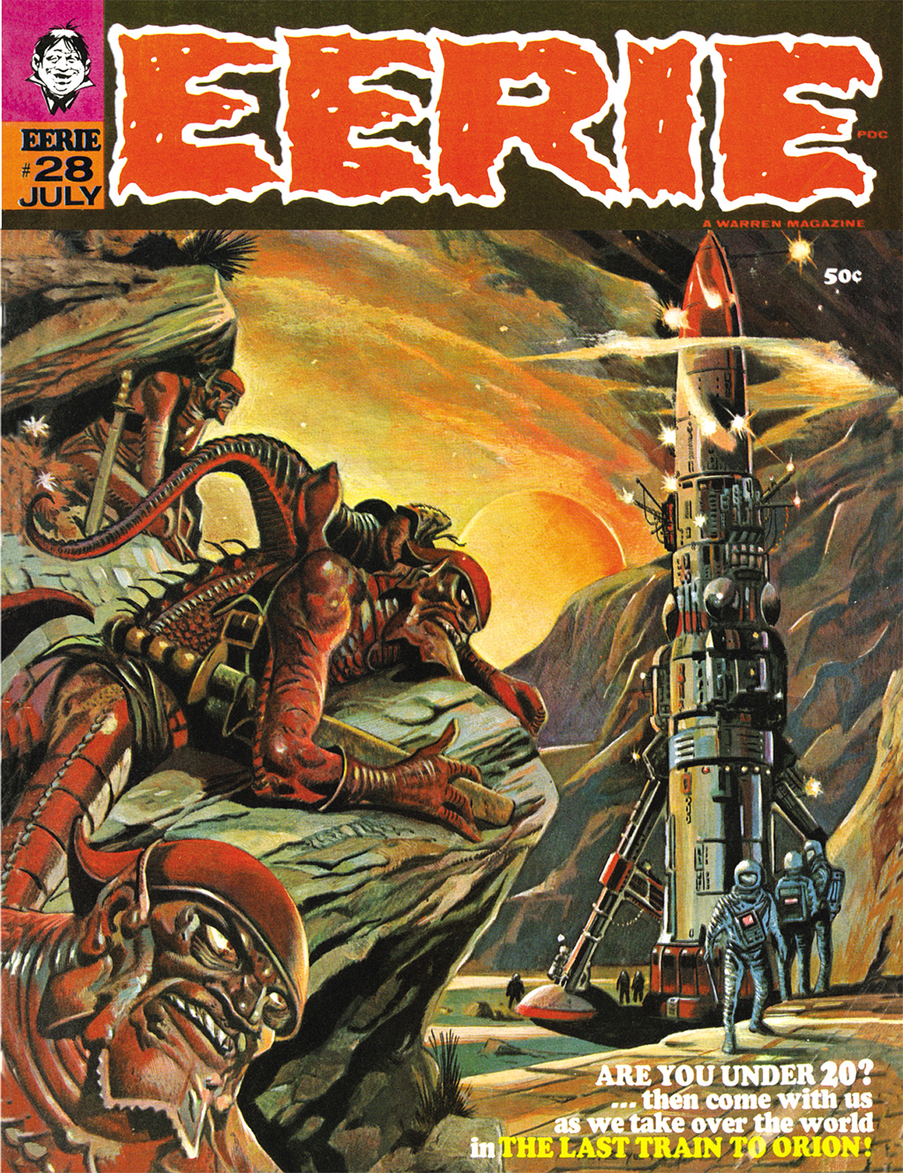 Read online Eerie Archives comic -  Issue # TPB 6 - 12
