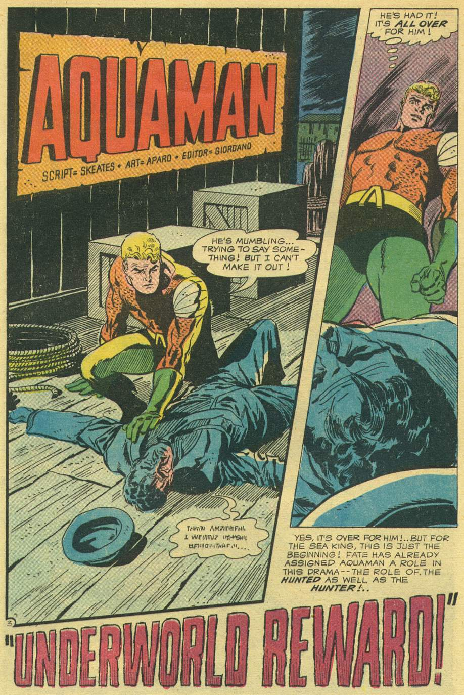 Read online Aquaman (1962) comic -  Issue #44 - 5