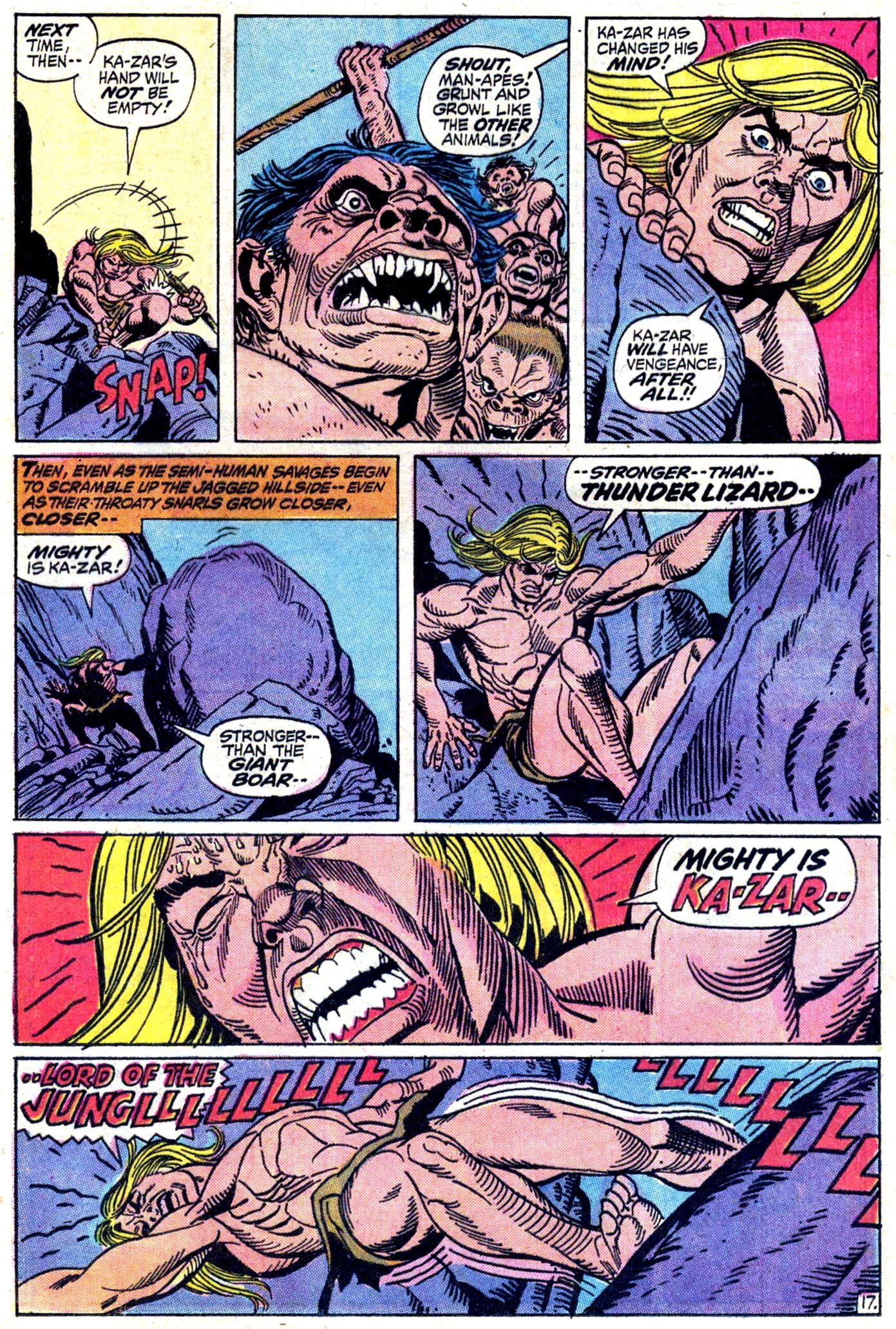 Read online Astonishing Tales (1970) comic -  Issue #11 - 18