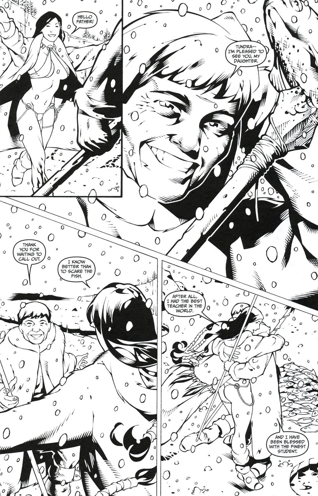 Read online Jungle Fantasy (2002) comic -  Issue #5 - 19