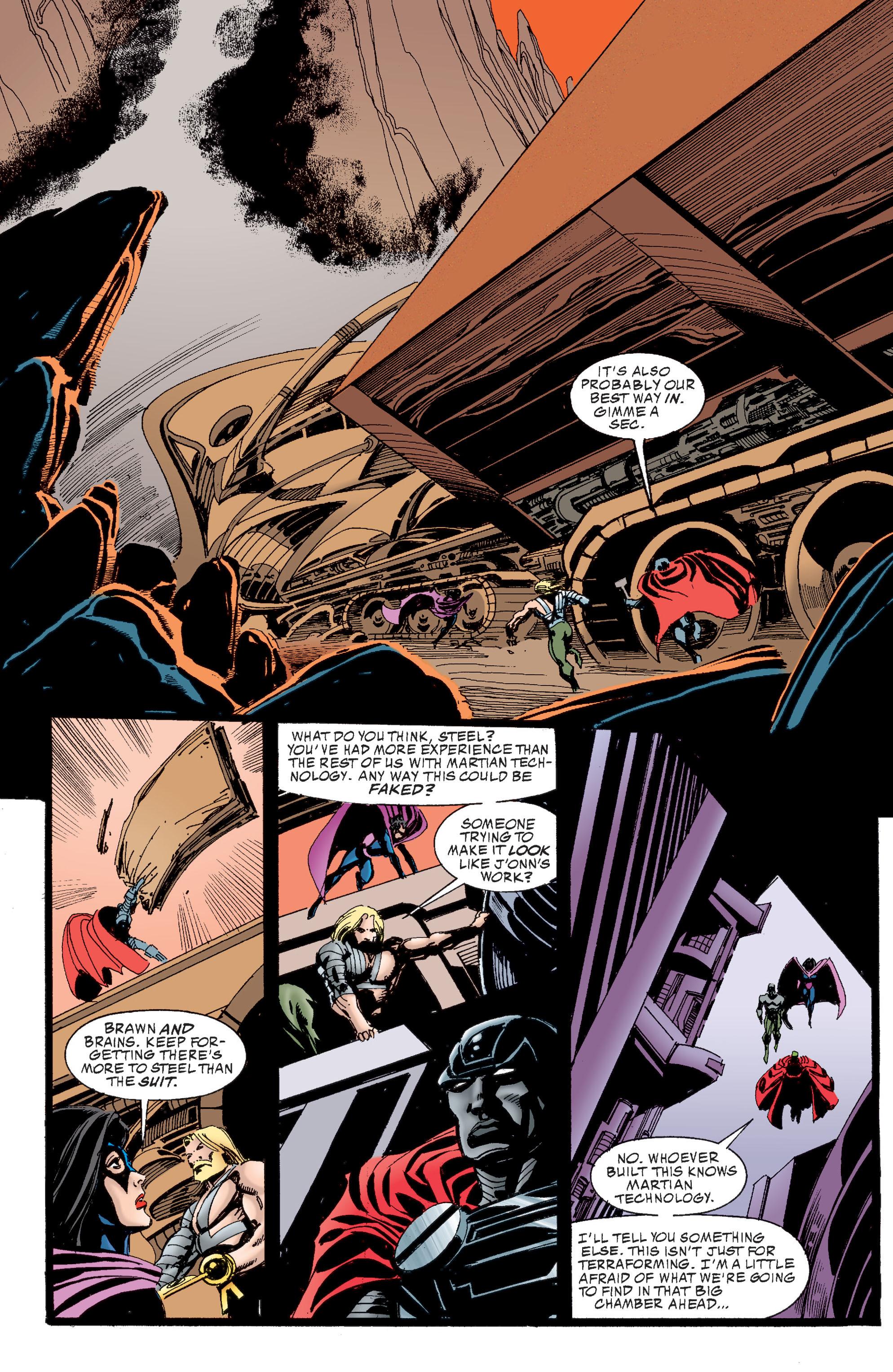 Read online Martian Manhunter: Son of Mars comic -  Issue # TPB - 154