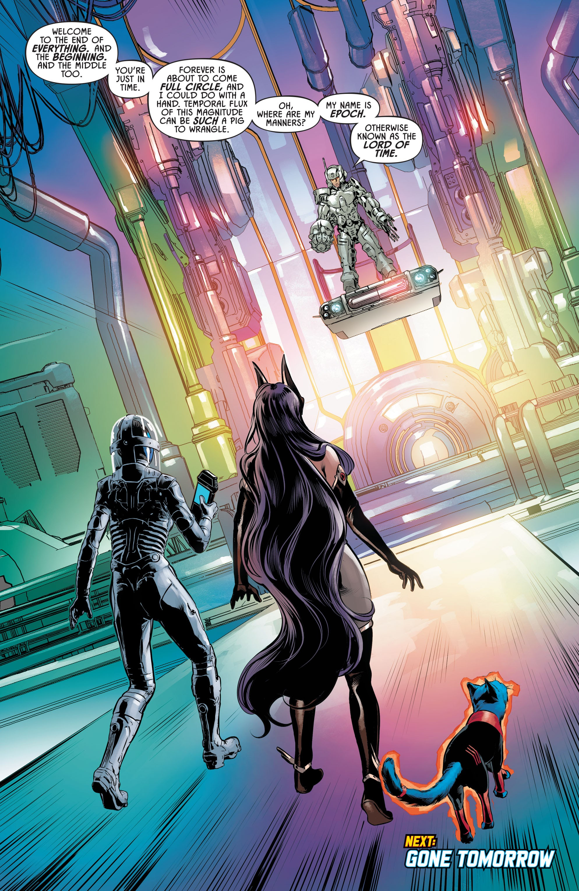 Justice League Odyssey #17 #17 - English 22