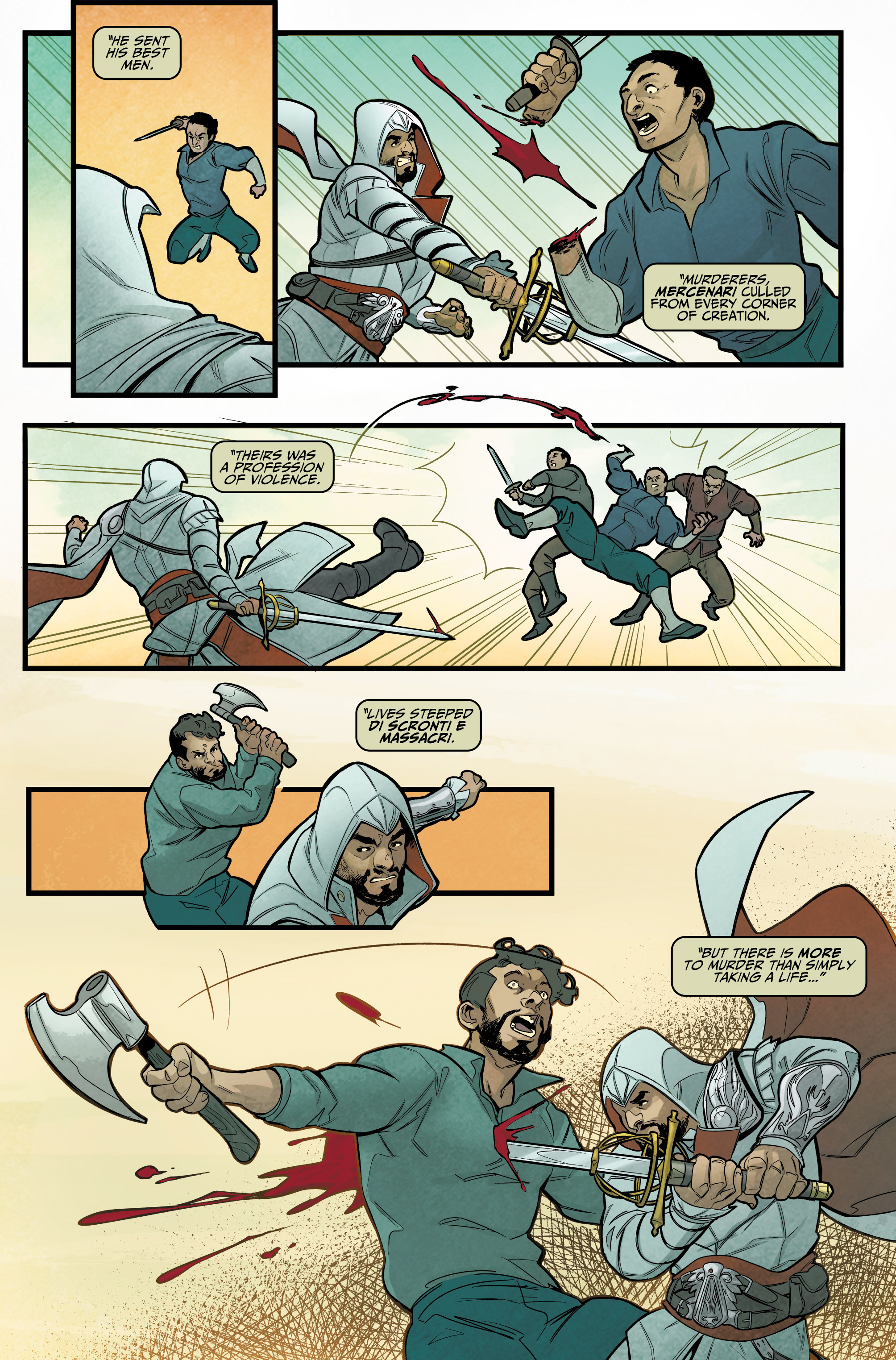 Read online Assassin's Creed: Reflections comic -  Issue #1 - 18