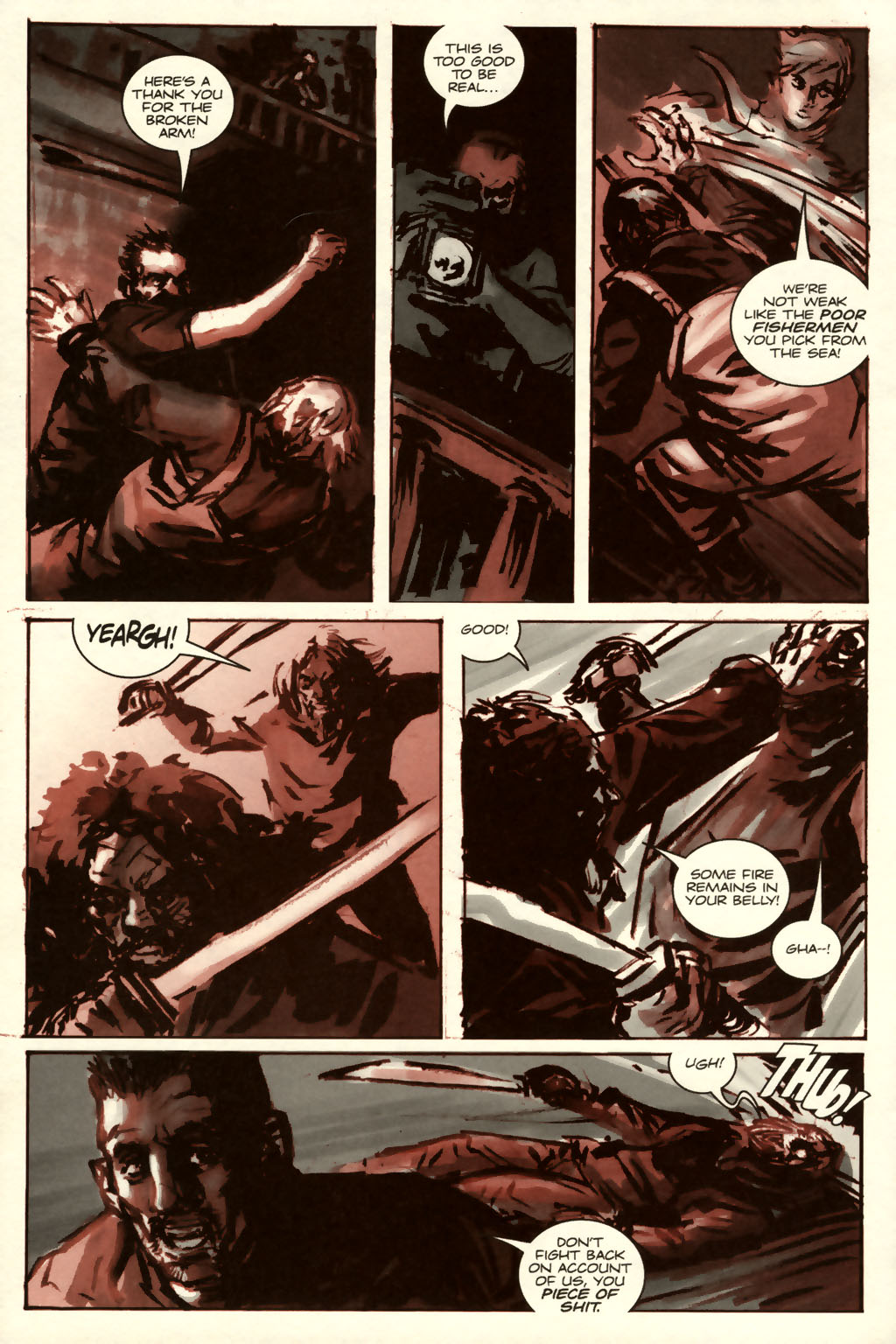 Read online Sea of Red comic -  Issue #8 - 14
