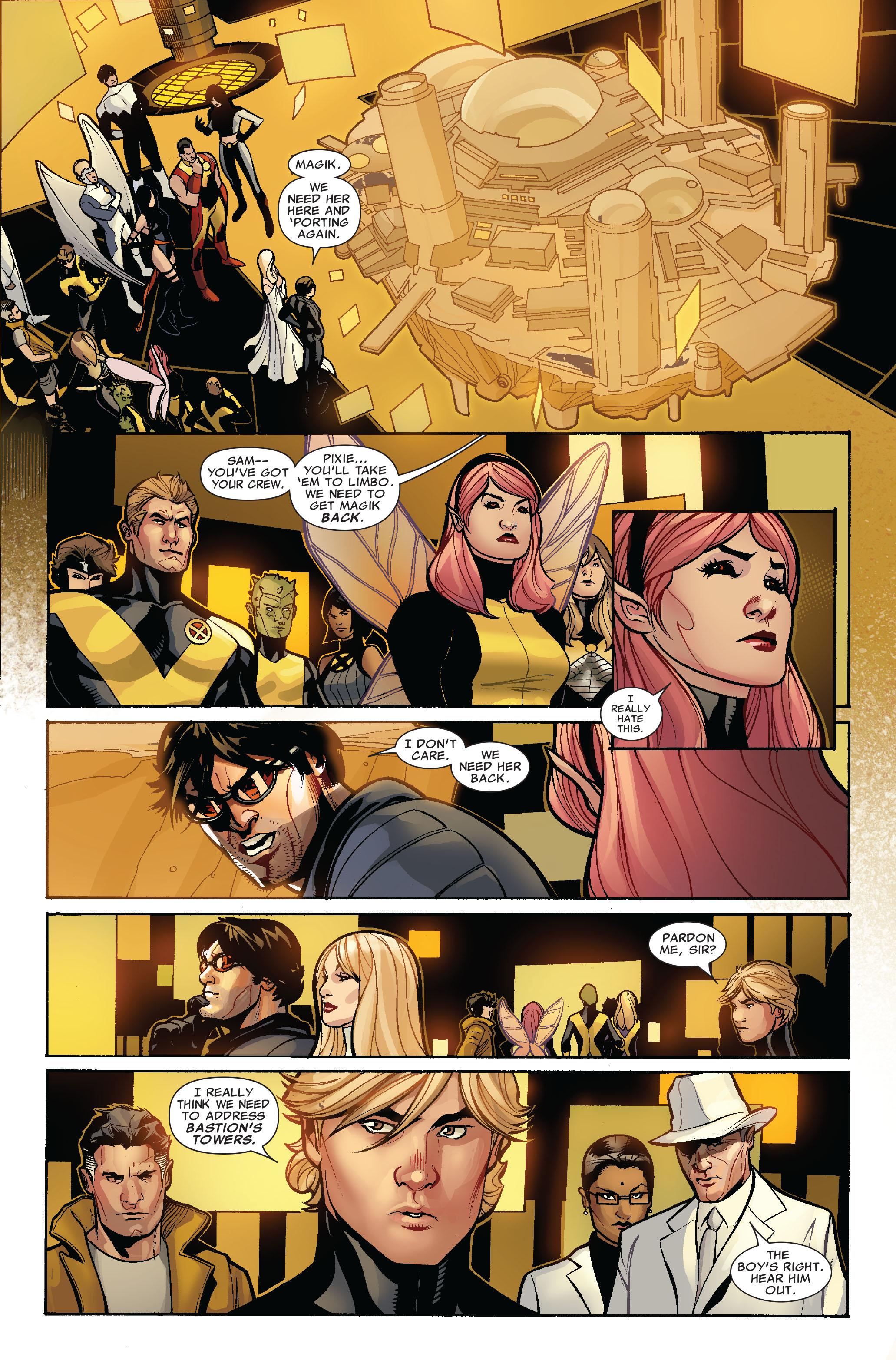 Read online Uncanny X-Men (1963) comic -  Issue #524 - 13