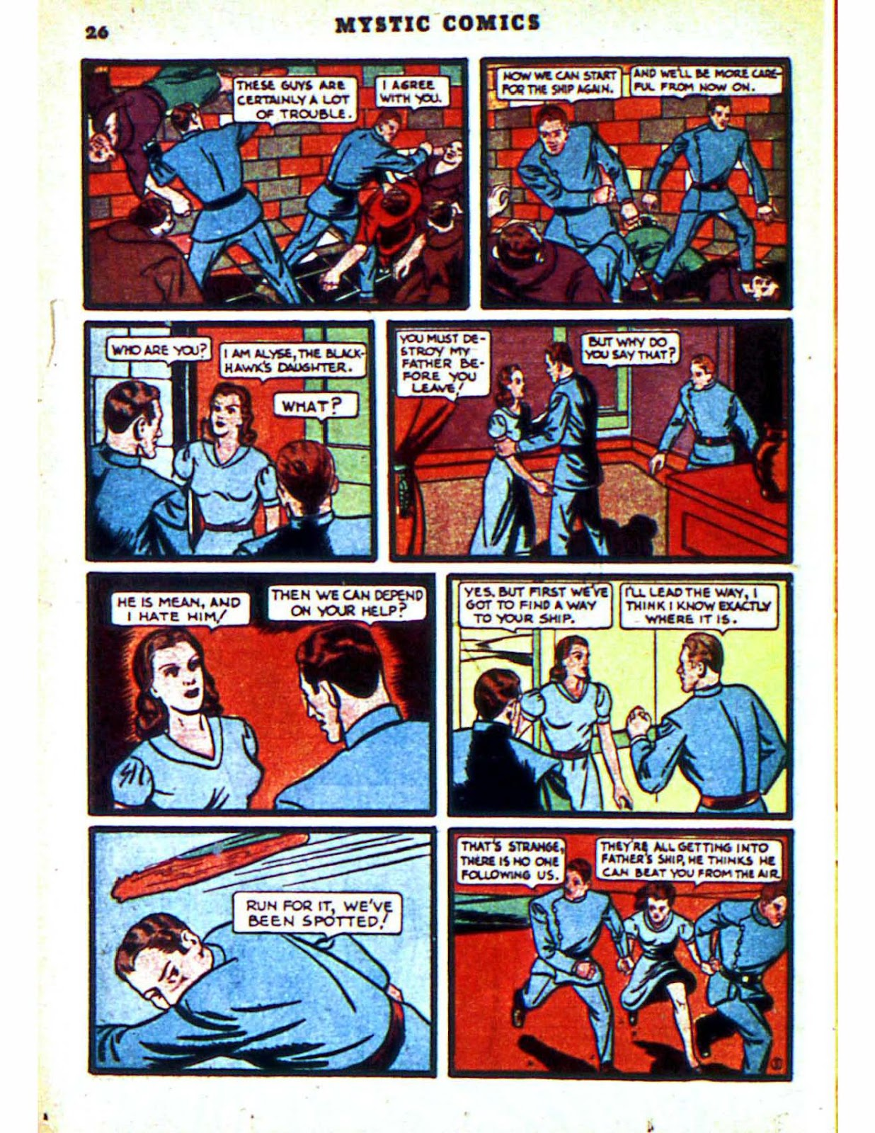 Mystic Comics (1940) issue 2 - Page 28